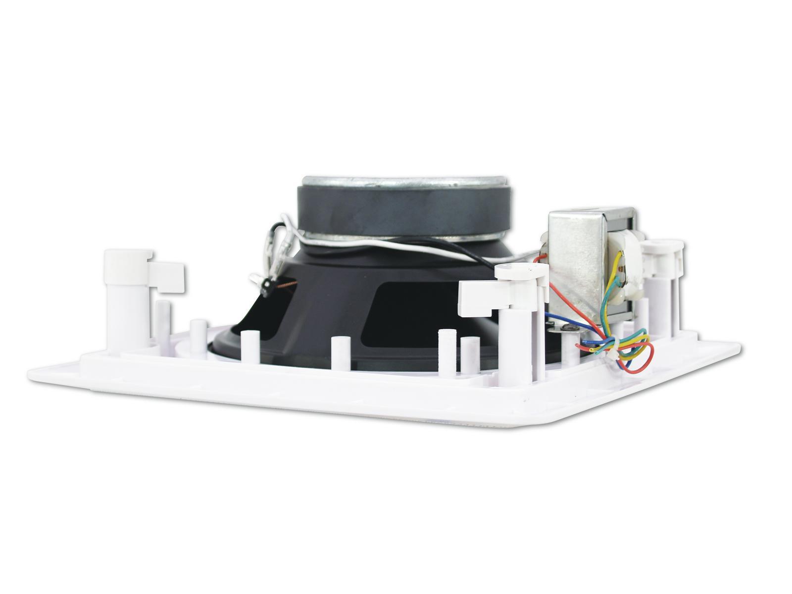 Cassa diffusore da soffitto parete 6 watt OMNITRONIC CSQ-6