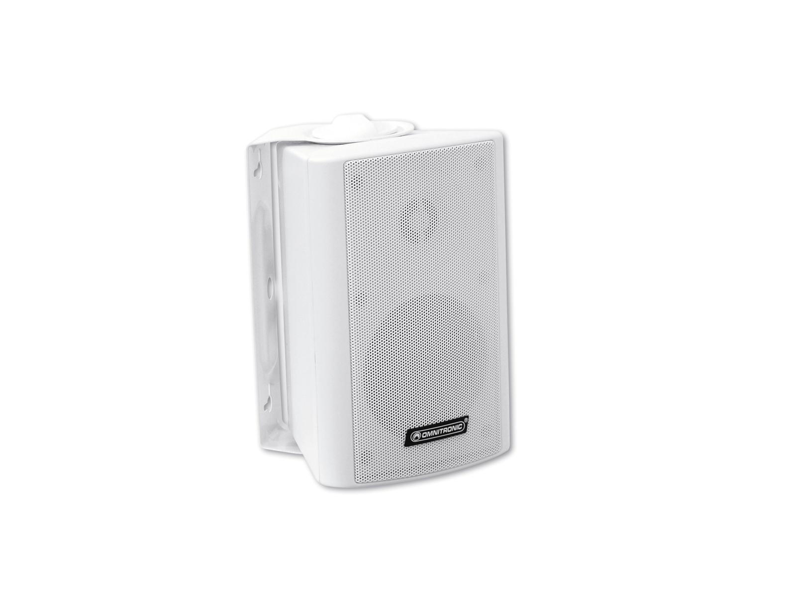 Cassa diffusore da soffitto parete 15 watt OMNITRONIC WP-3W pa bianca