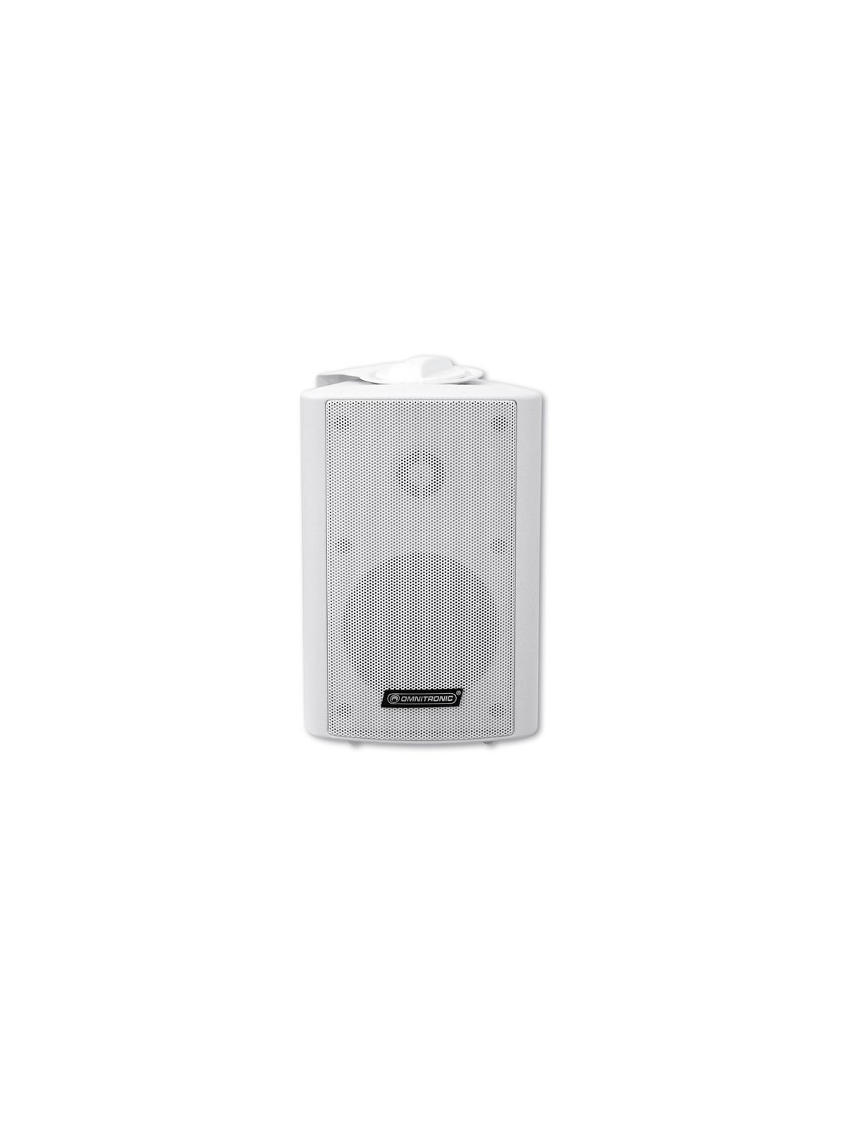 Cassa diffusore da soffitto parete 20 watt OMNITRONIC WP-4W pa bianca