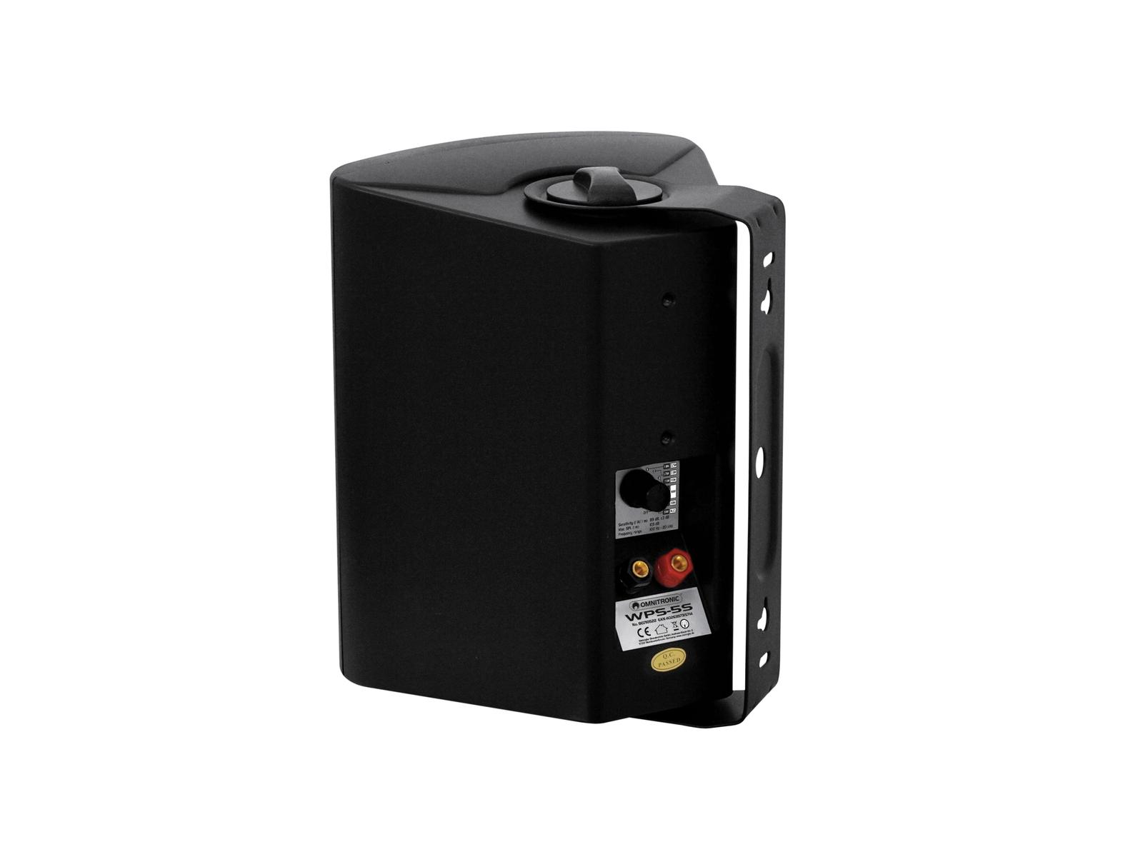 Cassa diffusore da soffitto parete 30 watt OMNITRONIC WPS-5S pa nera