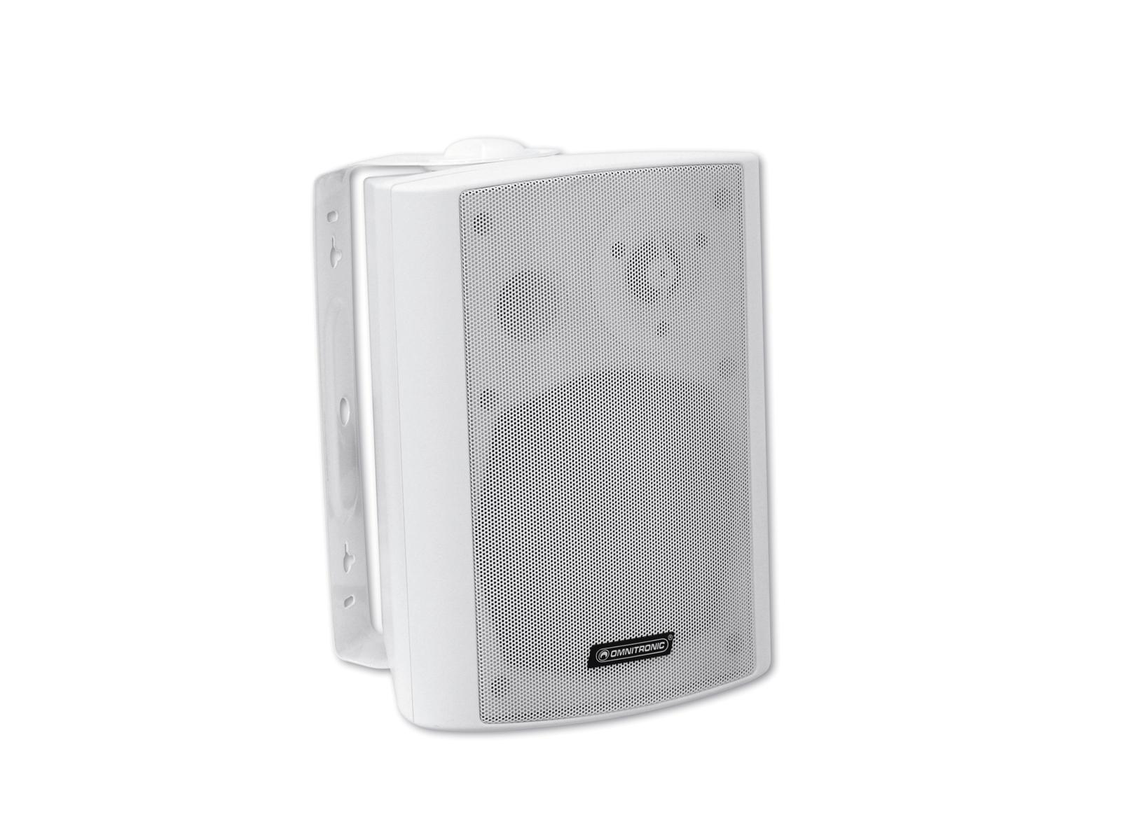 Cassa diffusore da soffitto parete 30 watt OMNITRONIC WPS-5S pa bianca