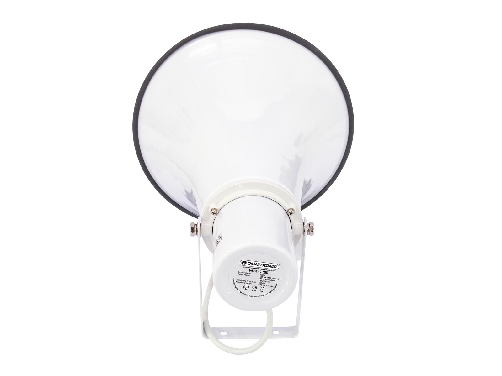 OMNITRONIC HR-25 PA megafono c