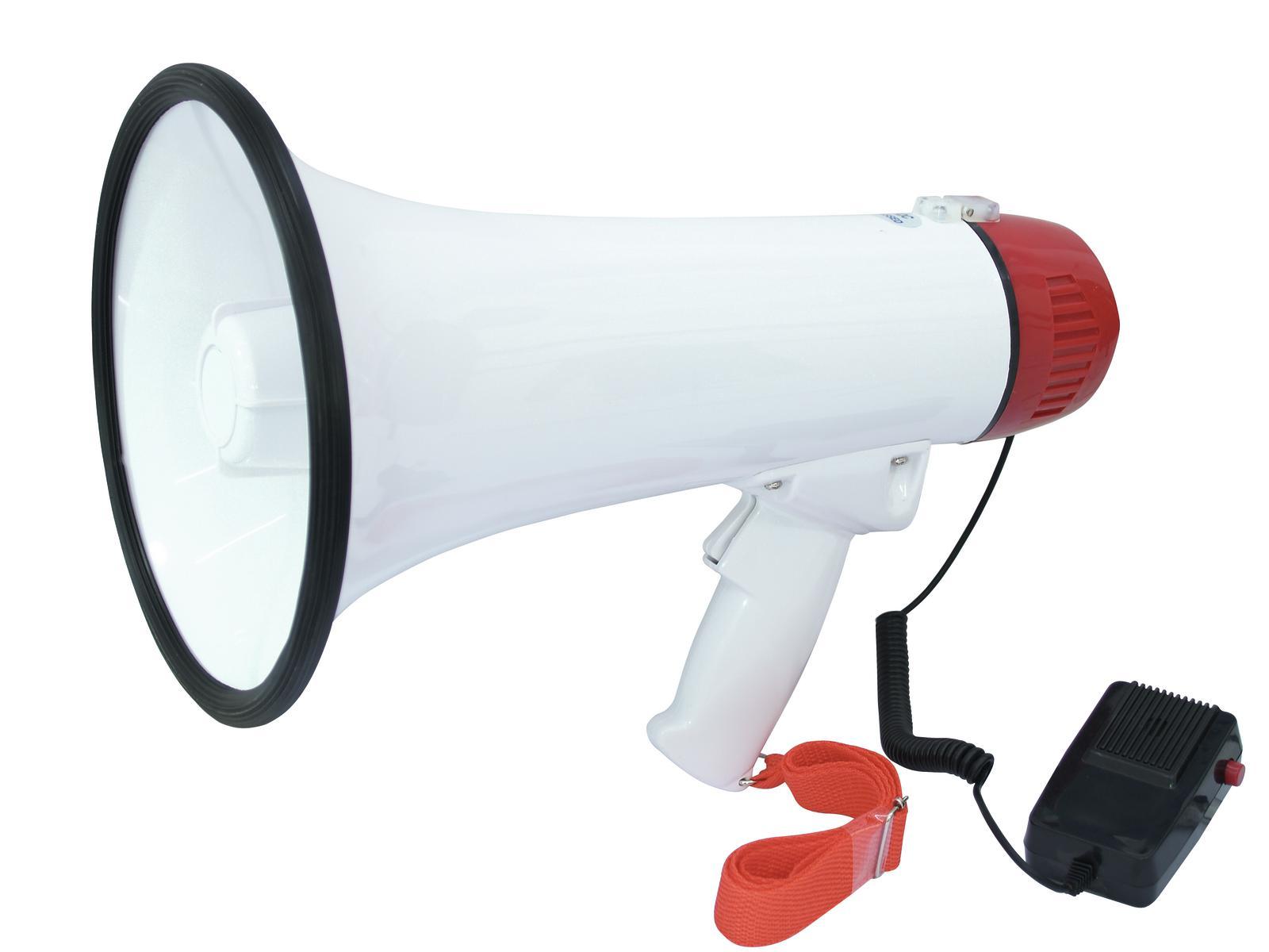 Megafono con microfono integrato controllo del volume OMNITRONIC MP-15
