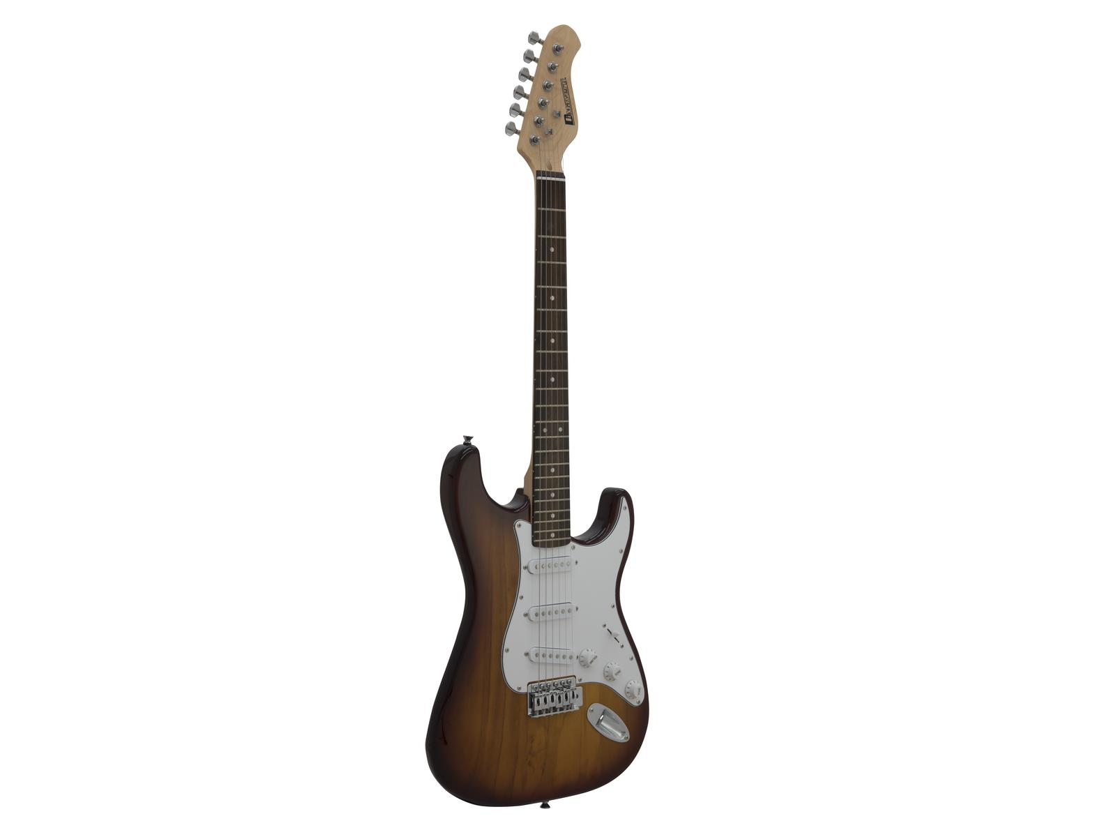 DIMAVERY ST-203 E-Gitarre, sunburst