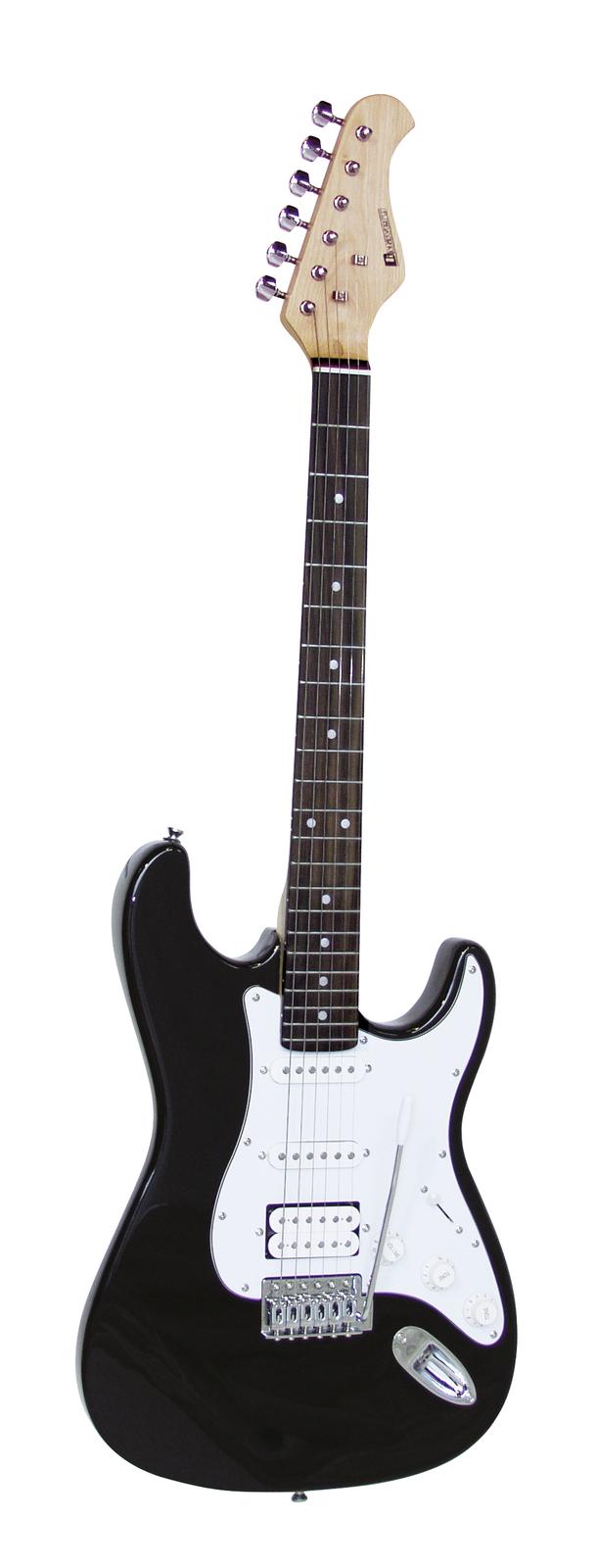 DIMAVERY ST-312 E-Gitarre, schwarz