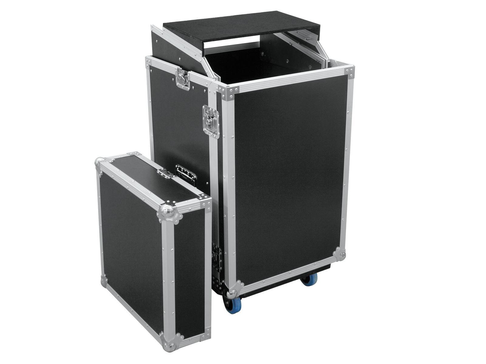 ROADINGER Spezial-Kombi-Case LS5 Laptop-Rack, 17HE