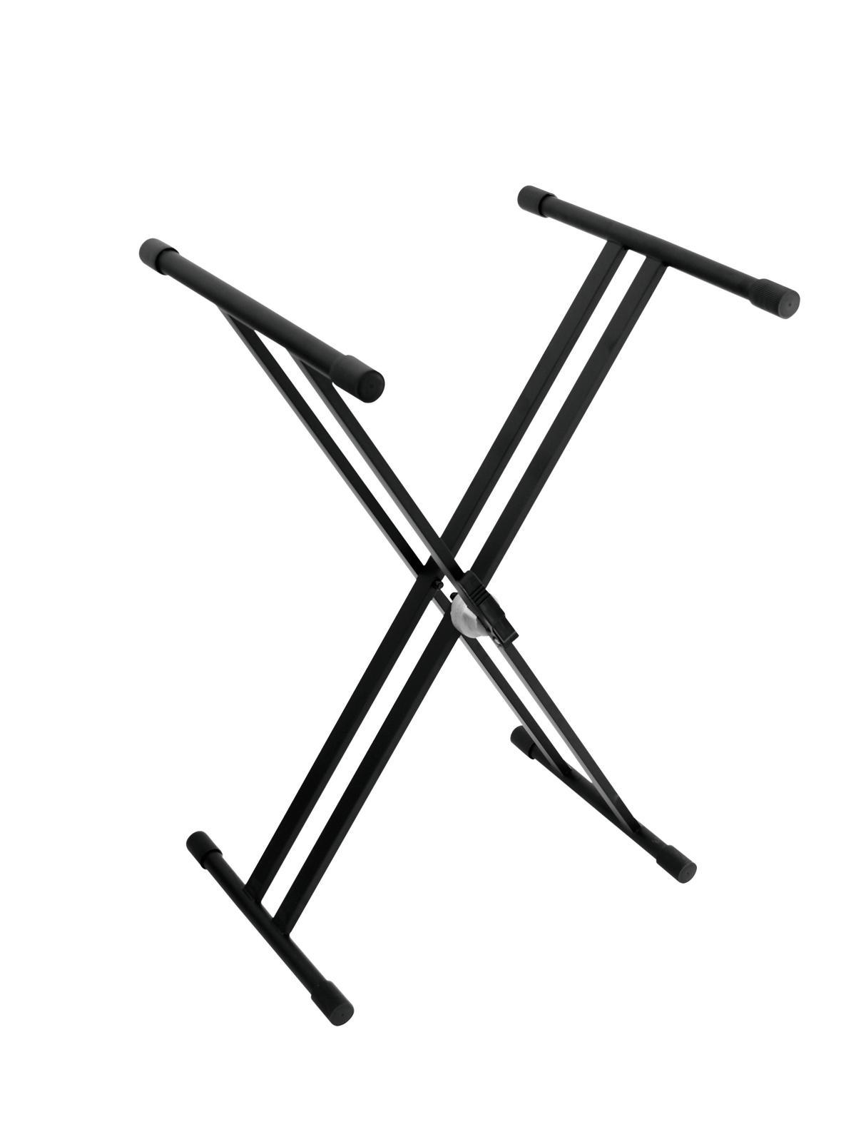 OMNITRONIC SV-1 Tastiera stand con morsetto di bloccaggio