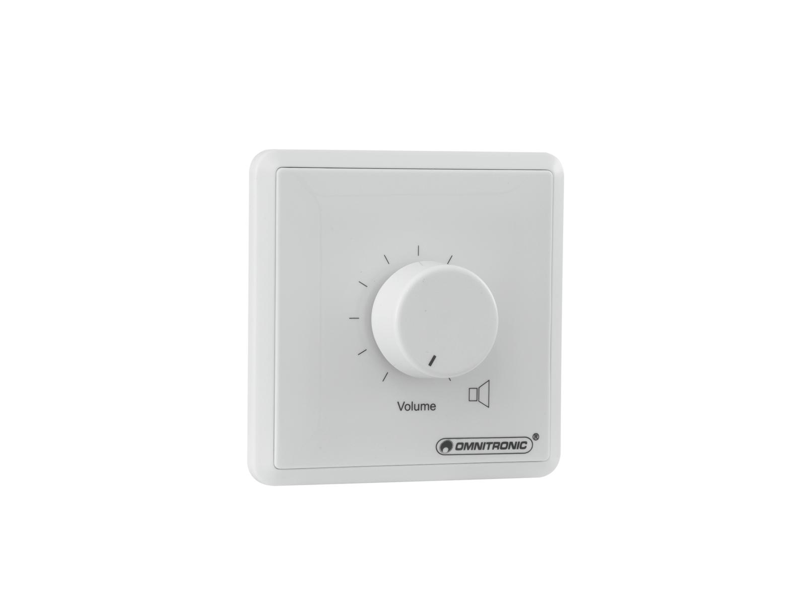 OMNITRONIC PA regolatore di zona 10W stereo bianco