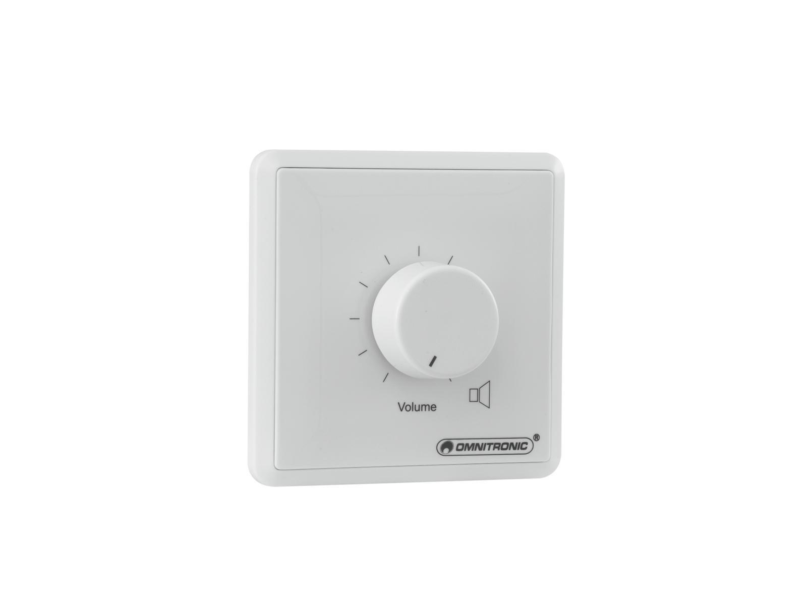 OMNITRONIC PA regolatore di zona 20W stereo bianco