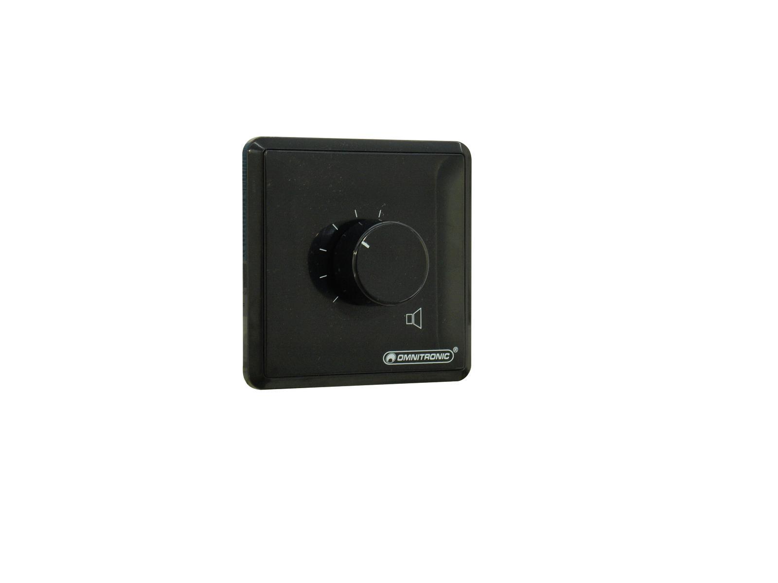 OMNITRONIC PA Regolatore di zona 5 W stereo nero
