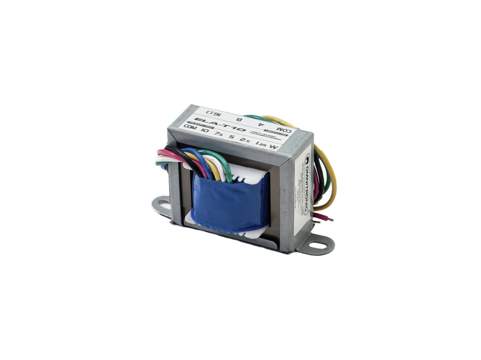 OMNITRONIC ELA-T10 Trasformatore audio da 10 Watt