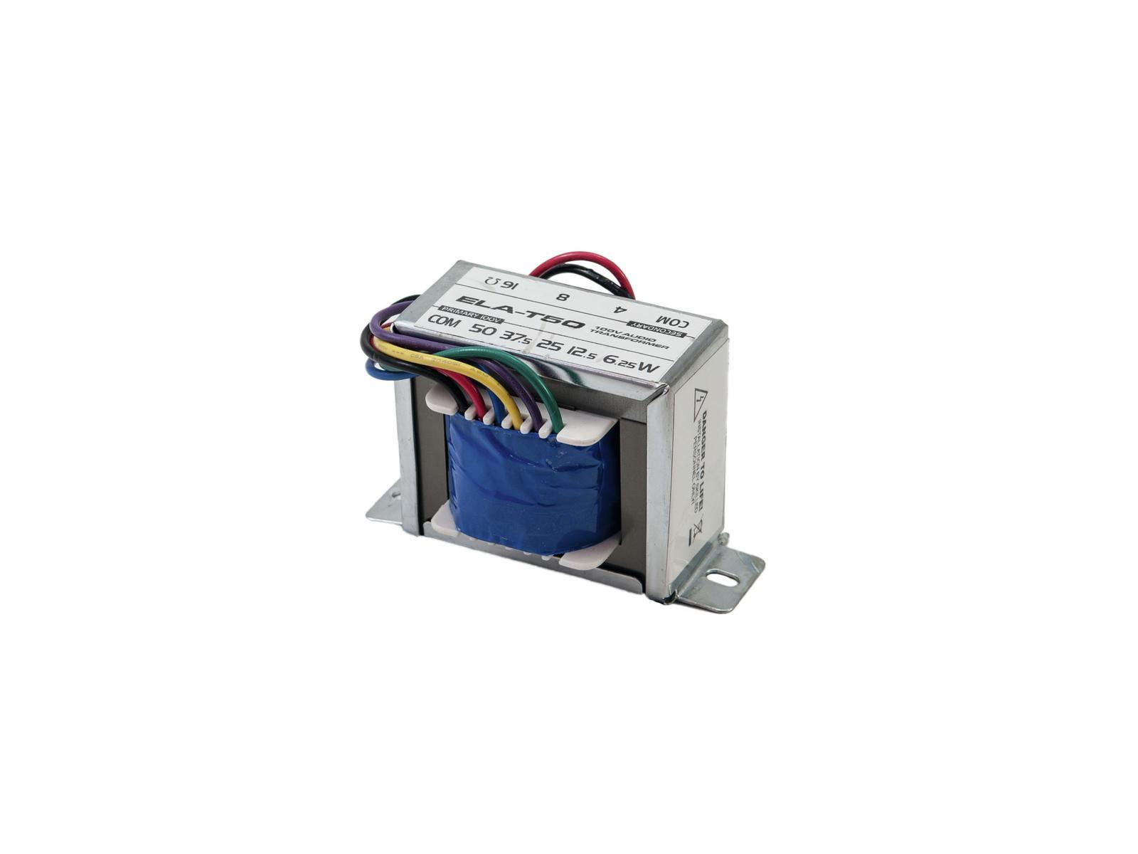 OMNITRONIC ELA-T50 Trasformatore audio da 50 Watt