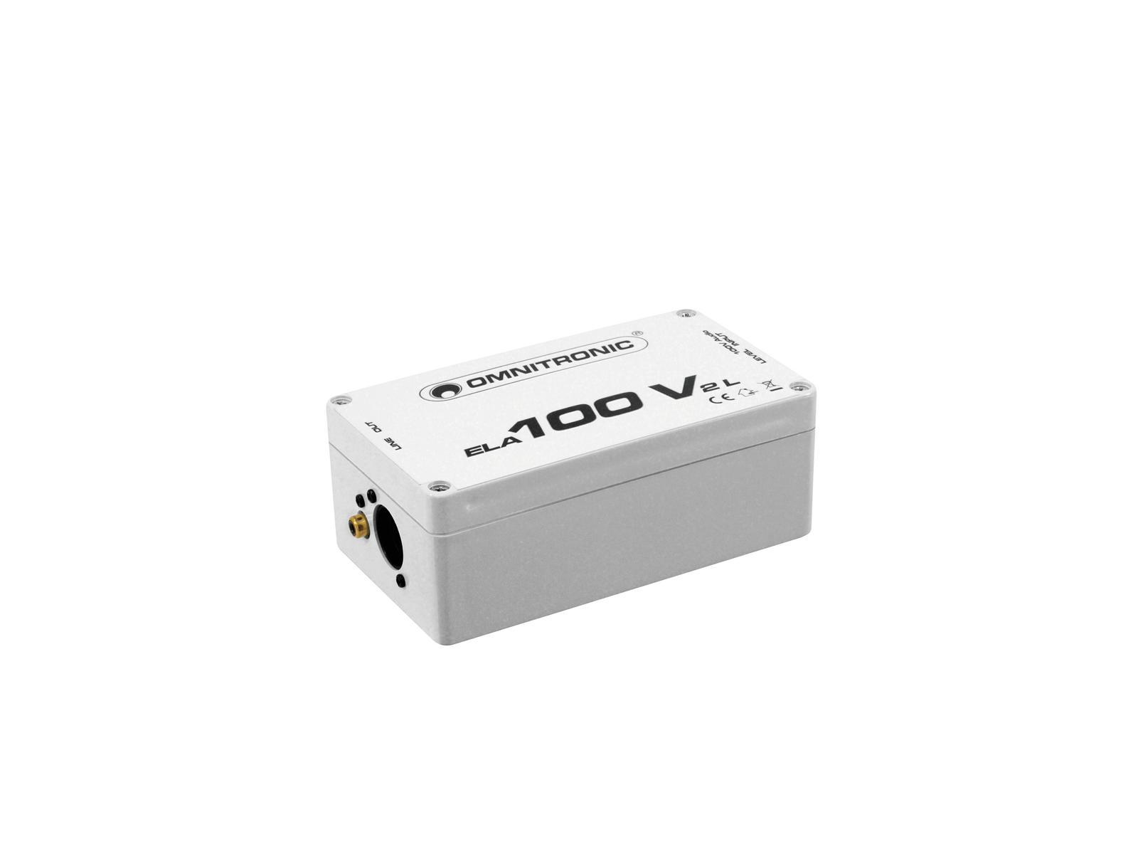 OMNITRONIC ELA-100V-2-L Übertrager