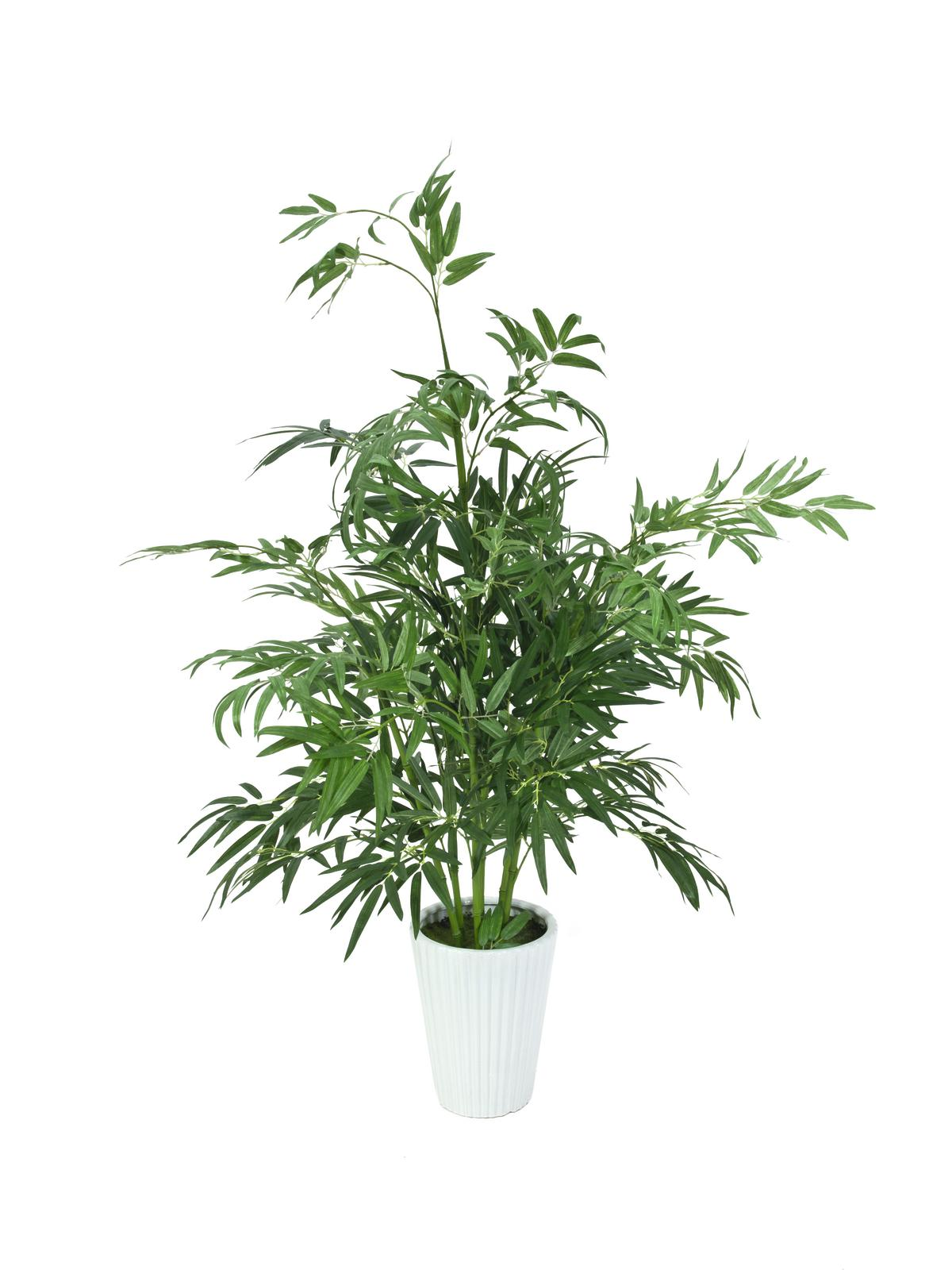 EUROPALMS pianta artificiale di Bambù Luxor, 145cm