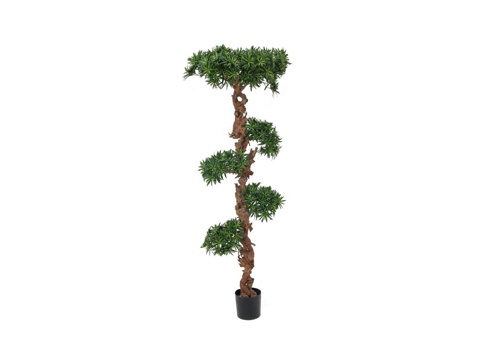 EUROPALMS Bonsai-Palmenbaum, Kunstpflanze, 180cm