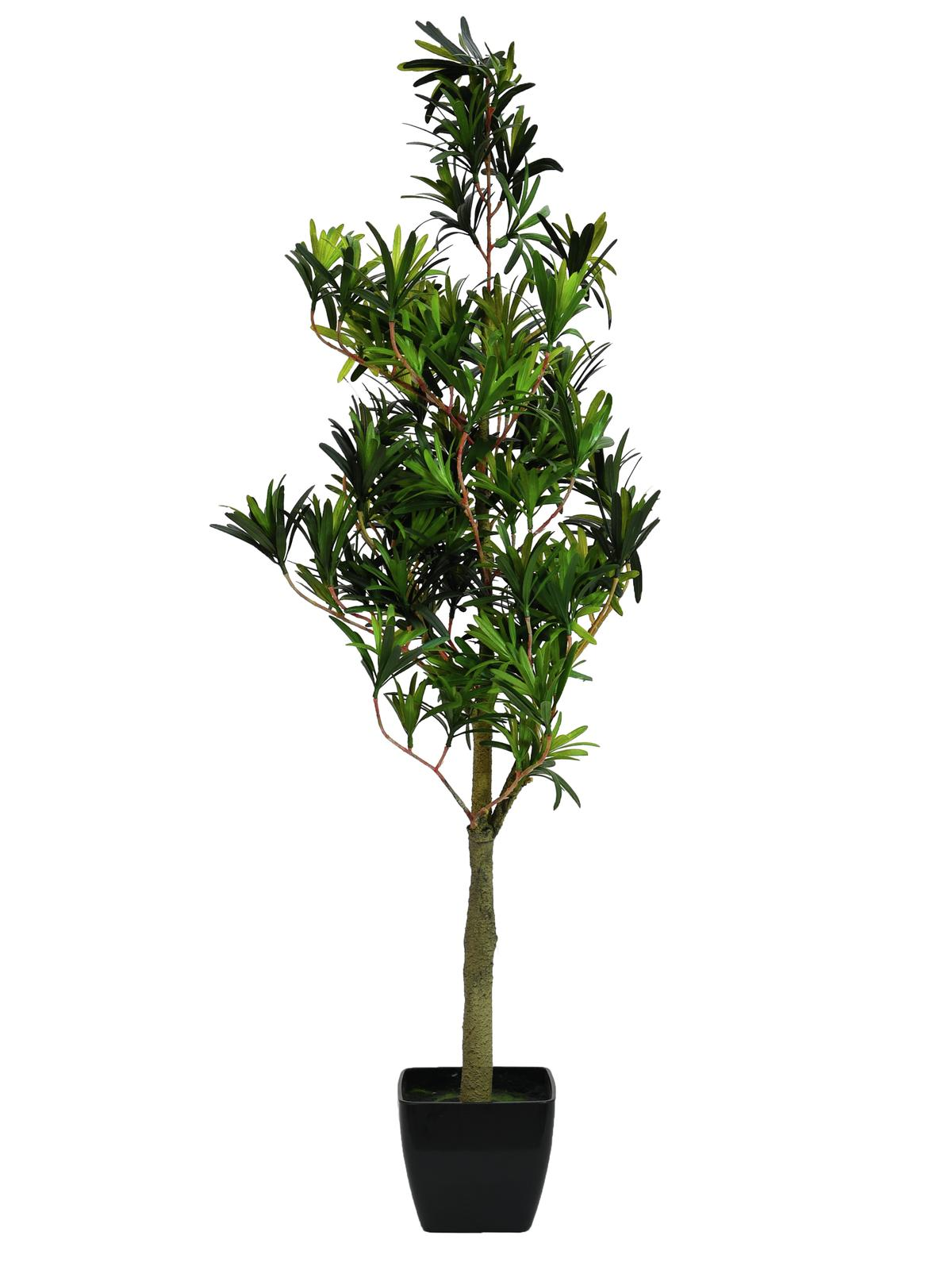EUROPALMS Steineibe, Kunstpflanze, 90cm