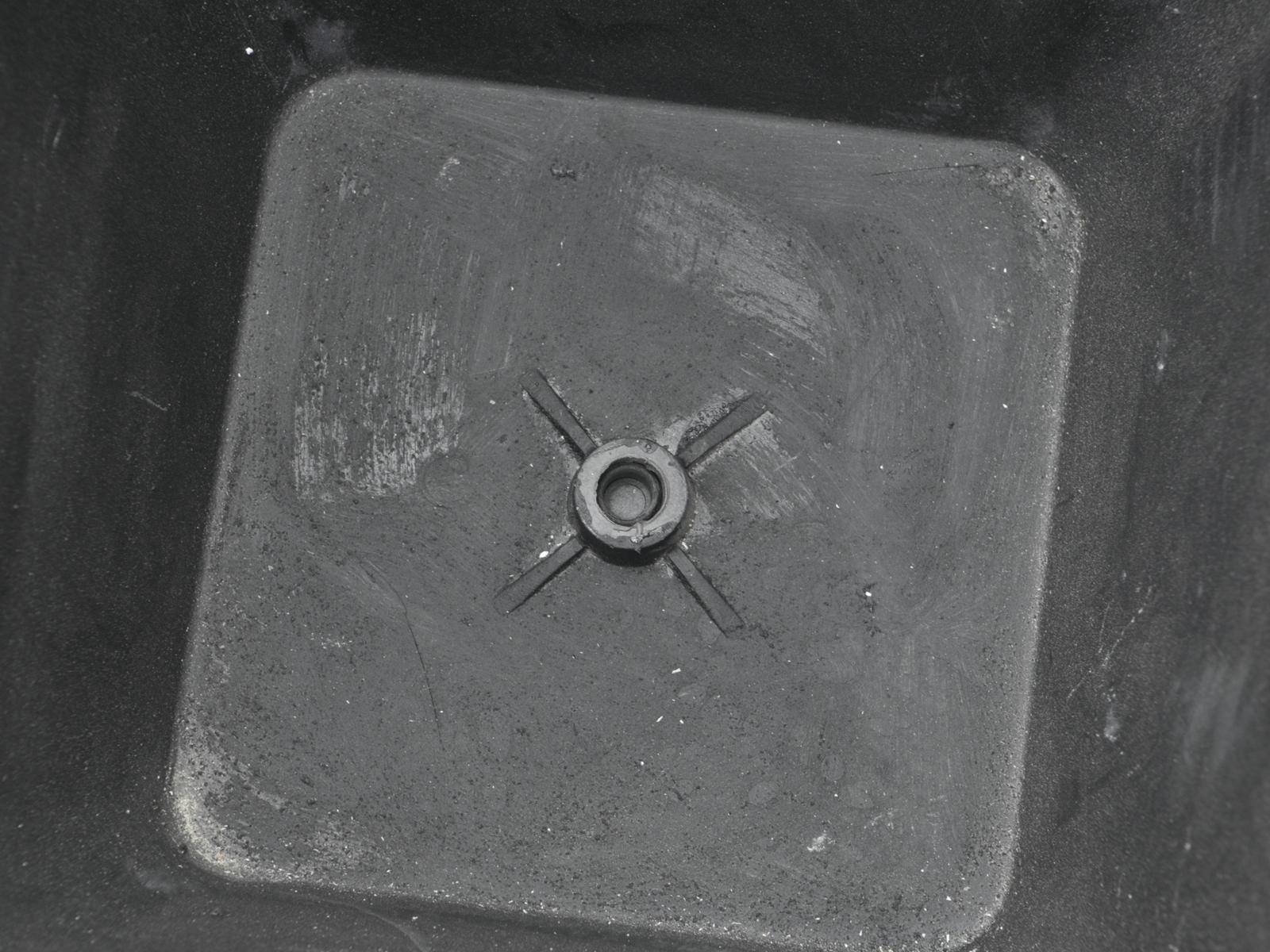 EUROPALMS Deco cachepot STONA-47, rettangolare, grigio