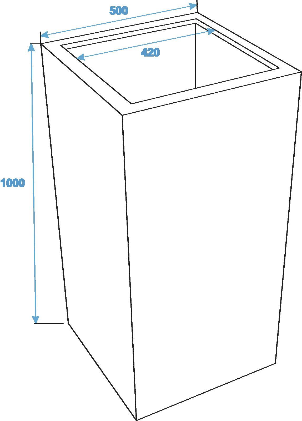EUROPALMS LEICHTSIN BOX-100, lucido-rosso