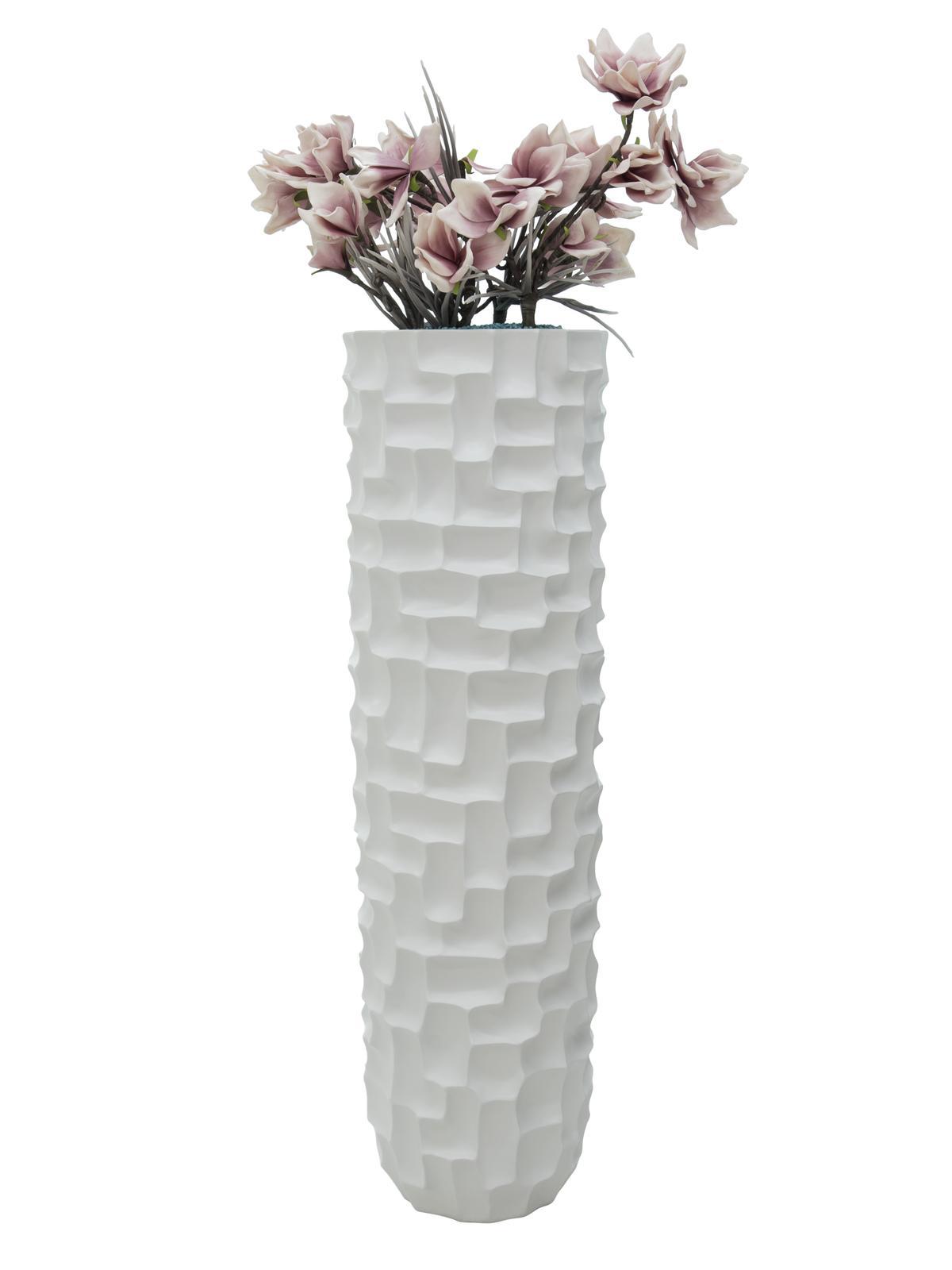 EUROPALMS Design piatto SPATTLE-140, bianco