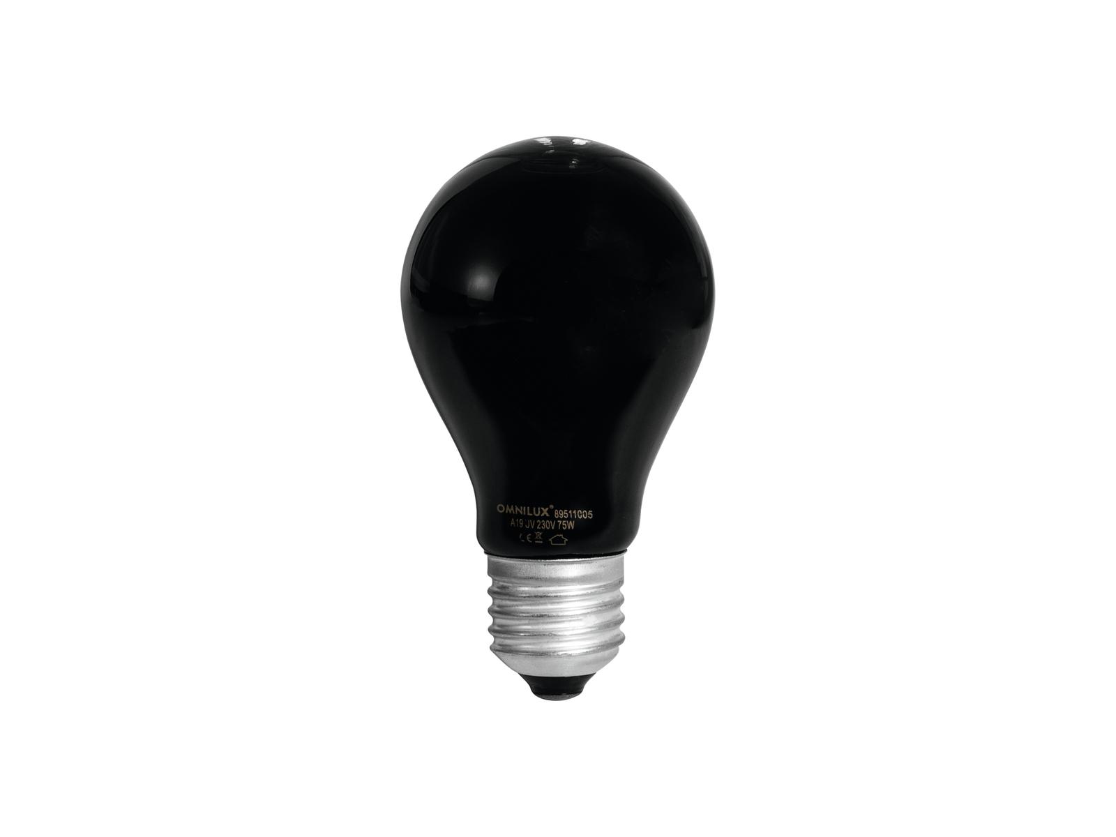 OMNILUX UV A19 lampada da 75W E-27