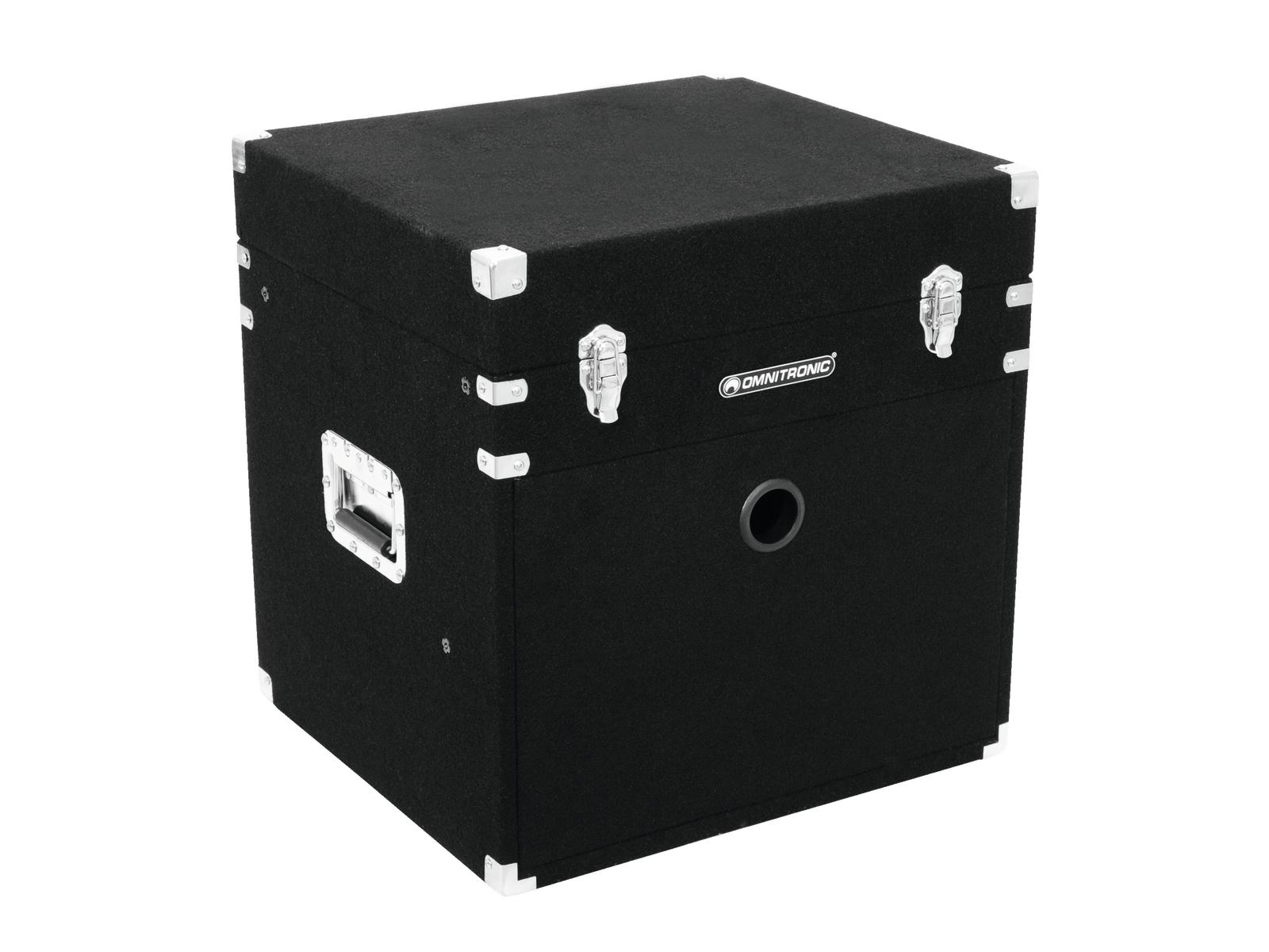 ROADINGER Kombi-Case 8HE Textilbezug schwarz