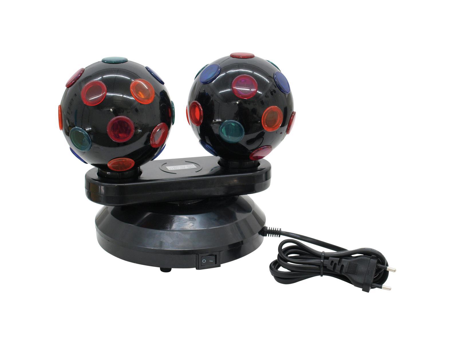 EUROLITE Mini Double Ball Effetto del Fascio