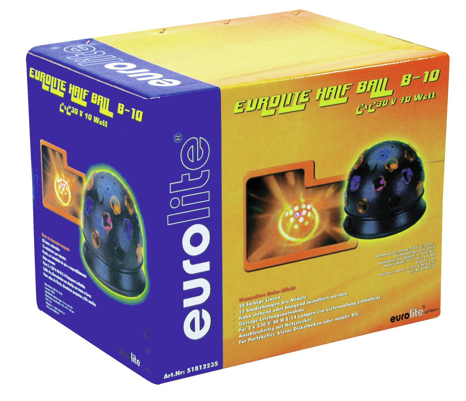 EUROLITE B-10 di Effetto luce colorato