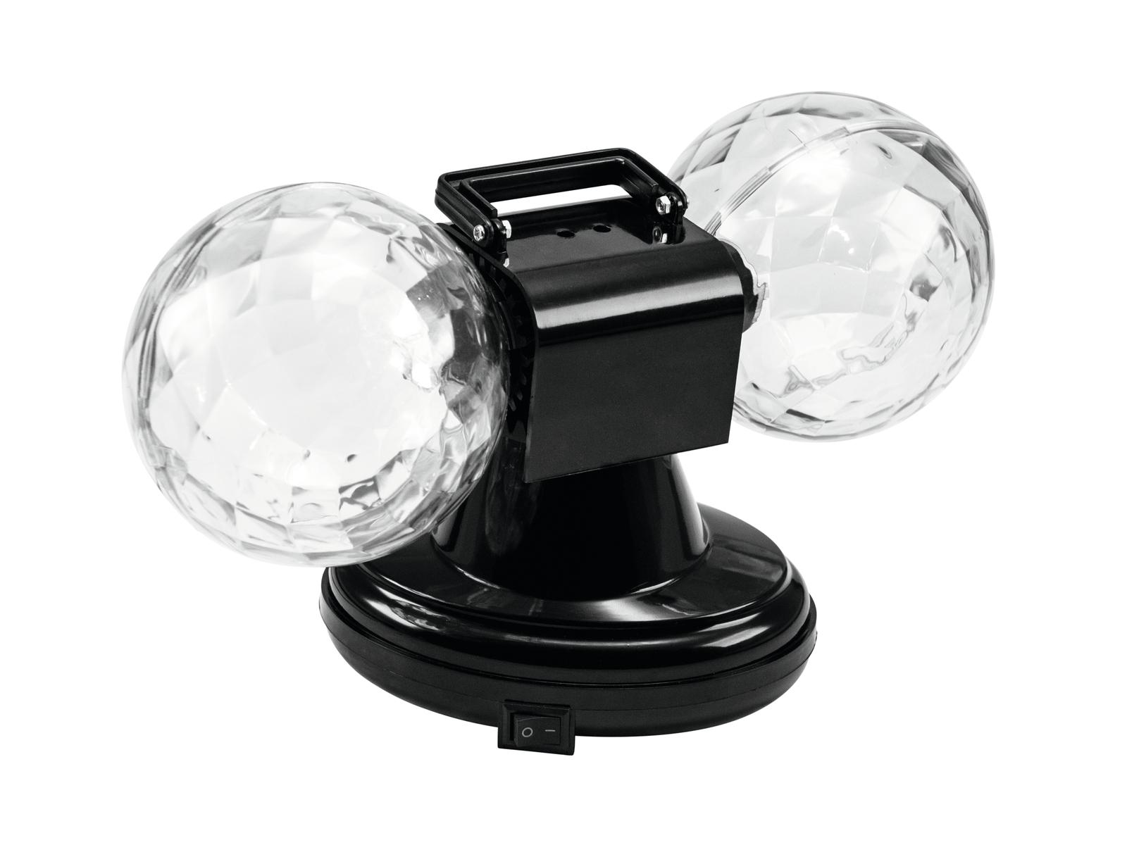 EUROLITE LED MDB-12 Mini double ball