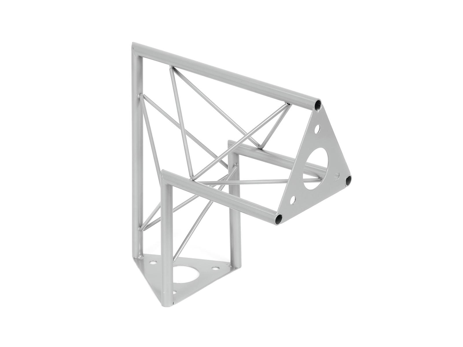 DECOTRUSS SAC-24 Dachstück / 90° sil