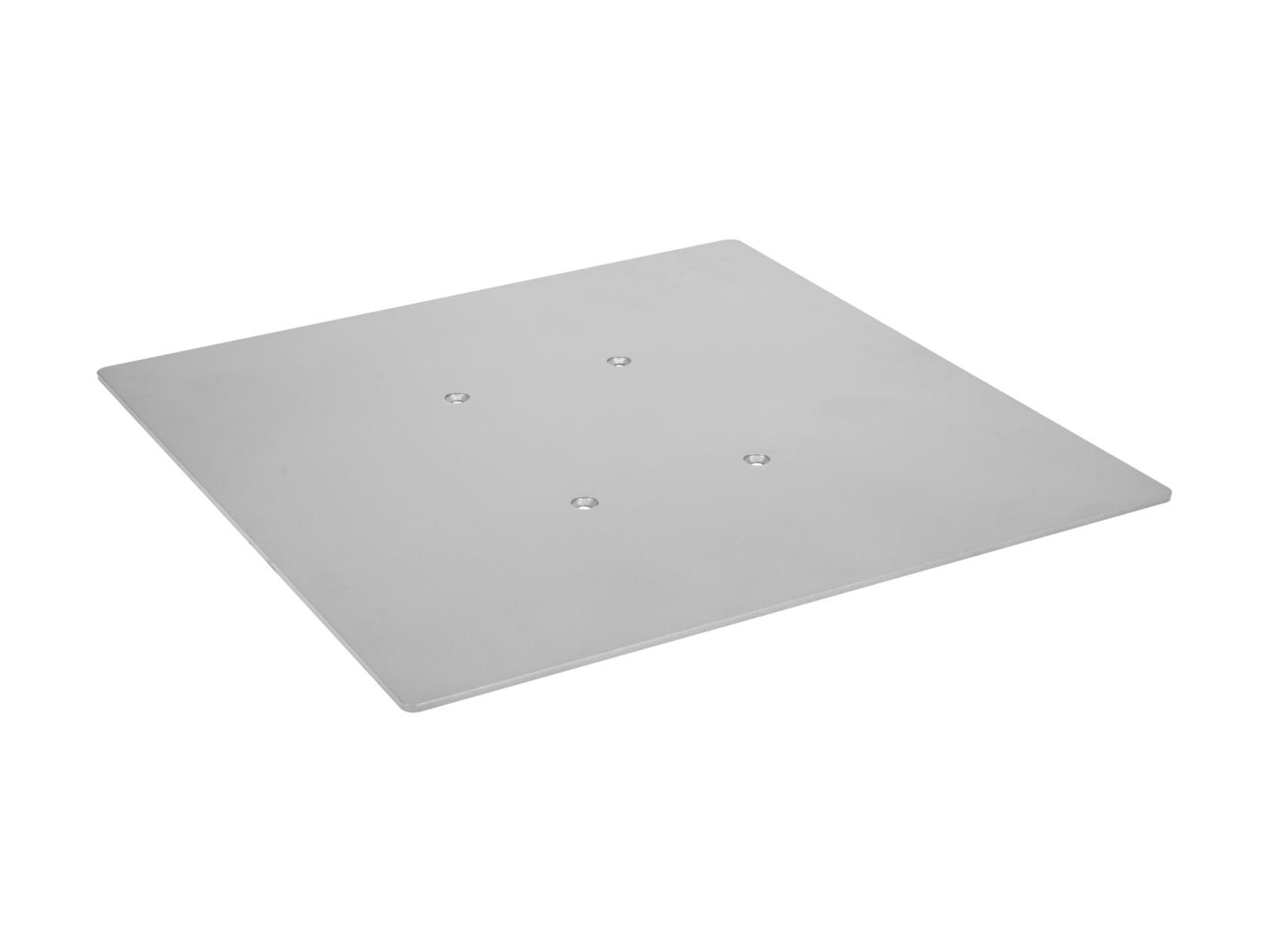 DECOTRUSS Quad Bodenplatte 500 sil