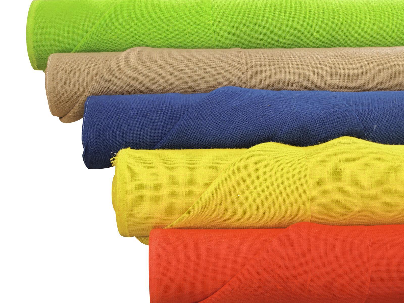EUROPALMS Deco tessuto, giallo, 130cm