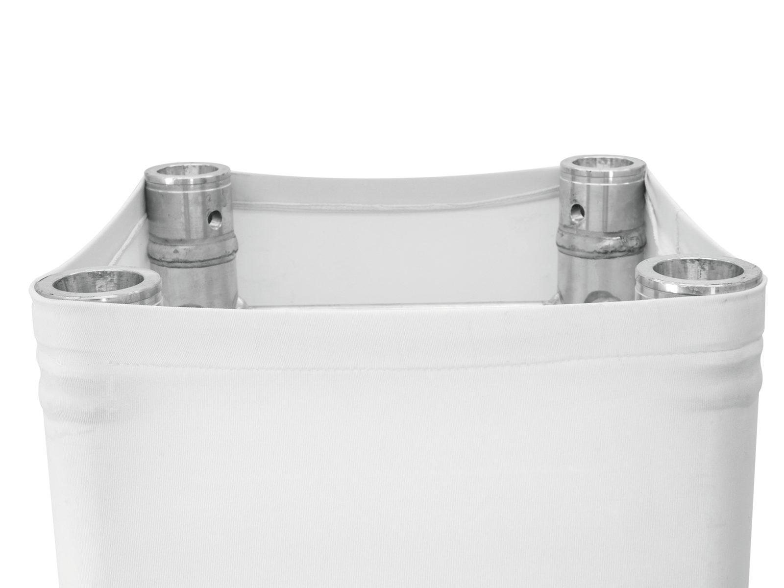EUROPALMS Capriata di copertura 100cm bianco