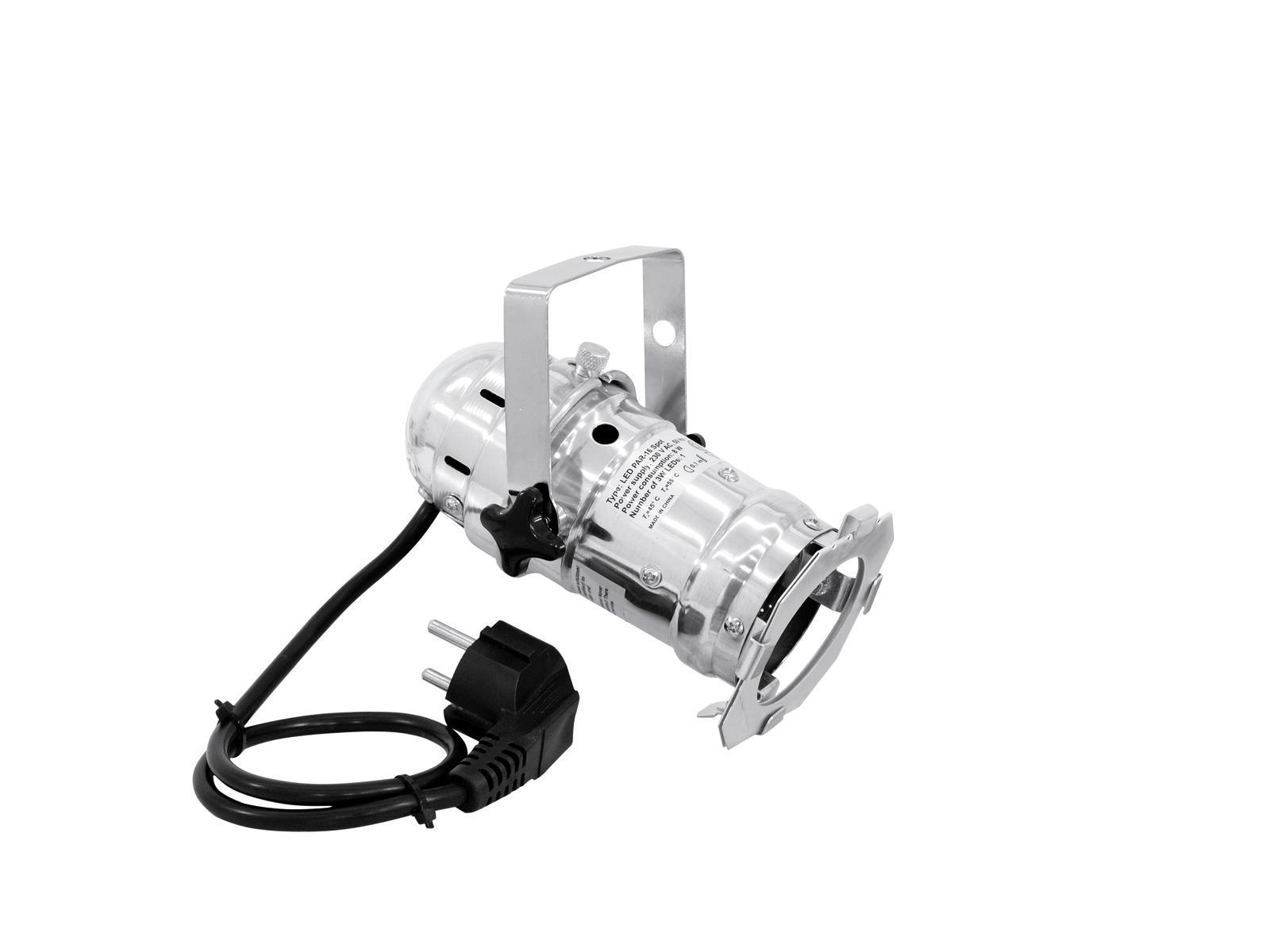 EUROLITE LED PAR-16 3200K 1x3W Spot sil