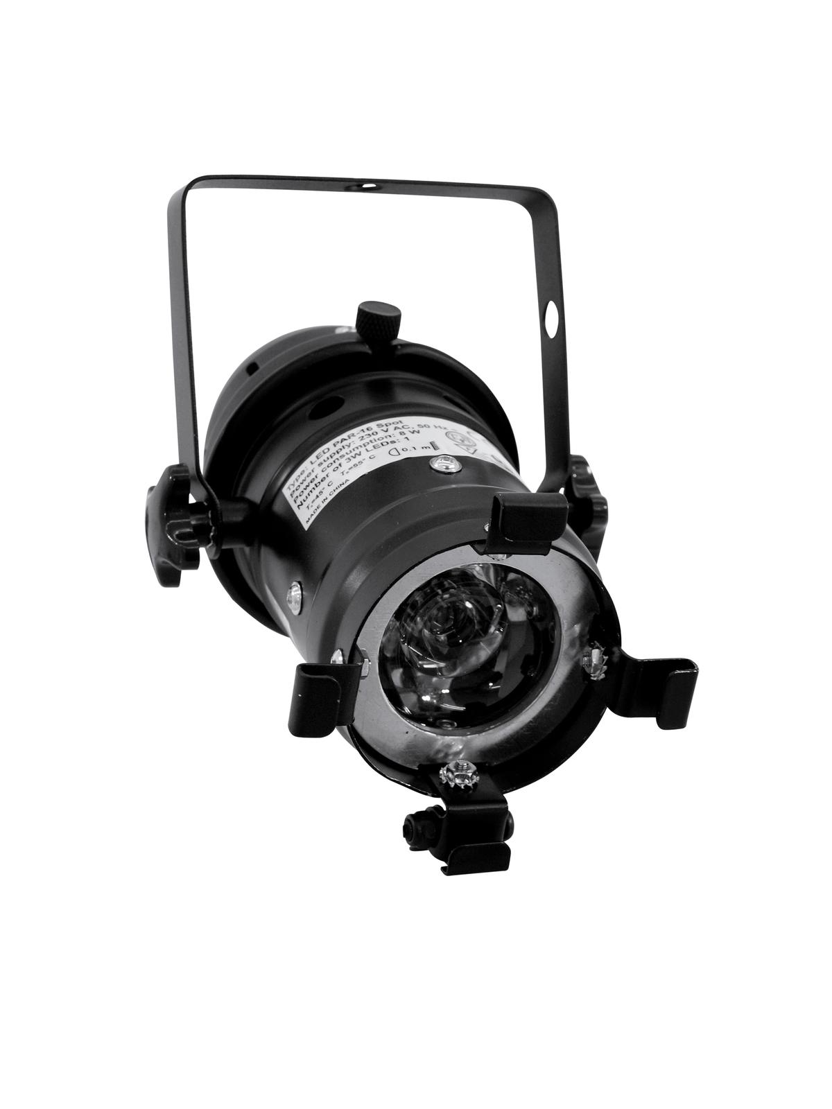 EUROLITE LED PAR-16 6500K 1x3W Spot bk