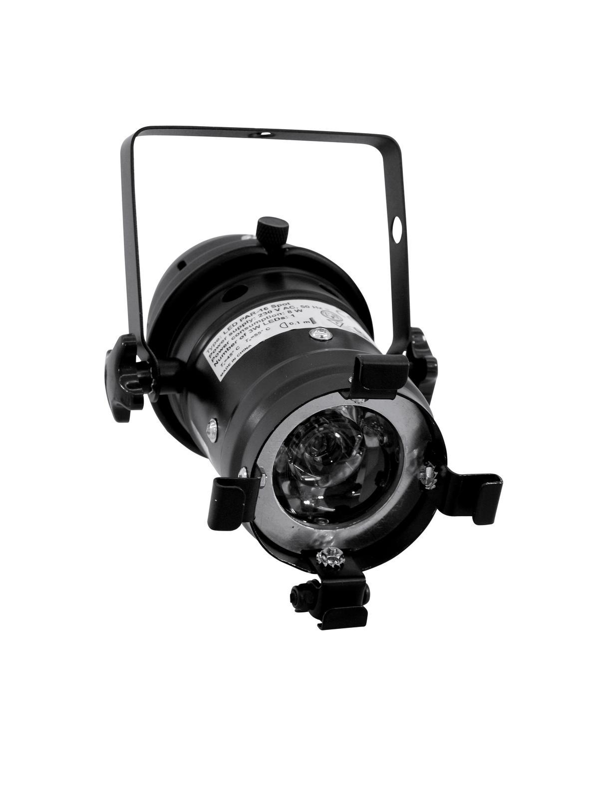 EUROLITE LED PAR-16 3200K 1x3W Spot bk
