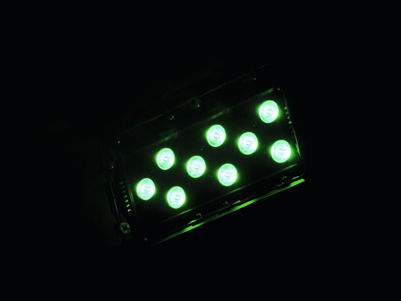 EUROLITE LED CLS-9 QLC RGBW 9x8W 12°