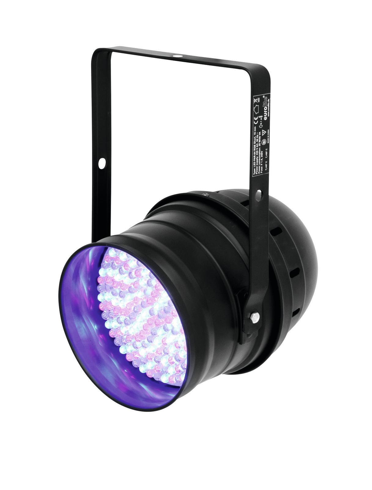 Effetto luce Faro par 64 a led Dmx 20 watt 183 led rgb Eurolite