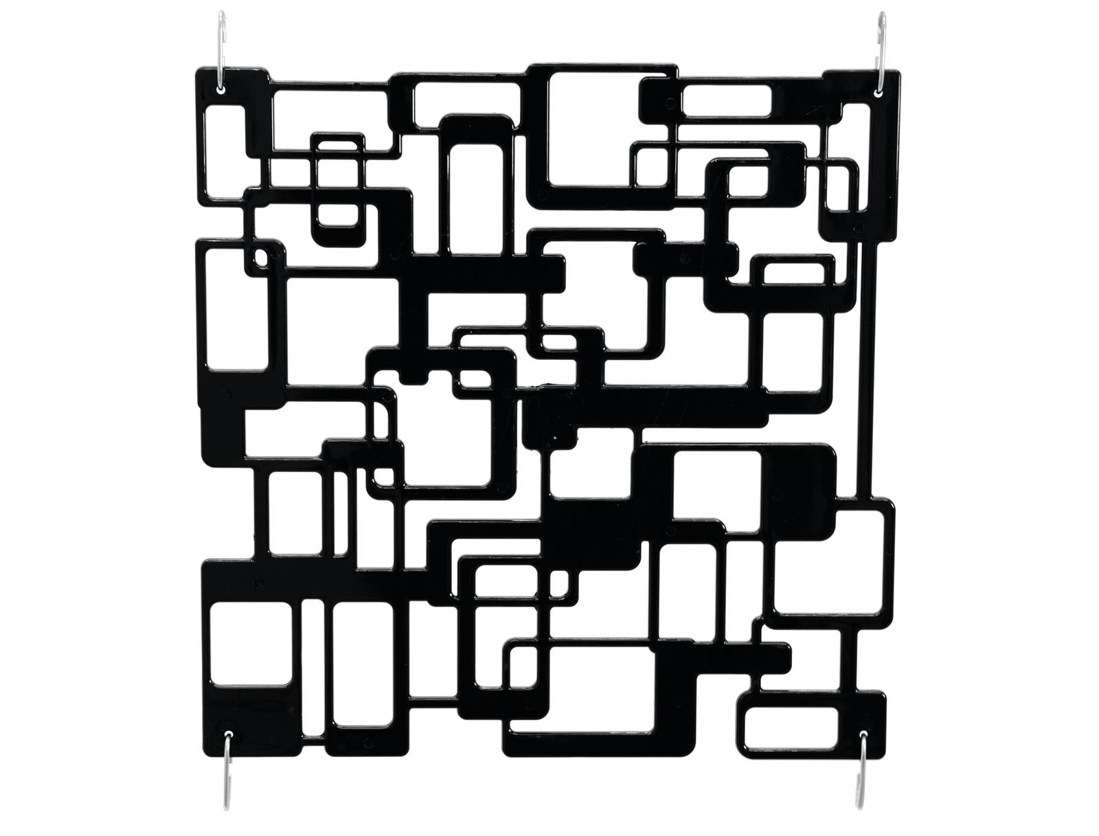 EUROPALMS divisorio labirinto nero 4x