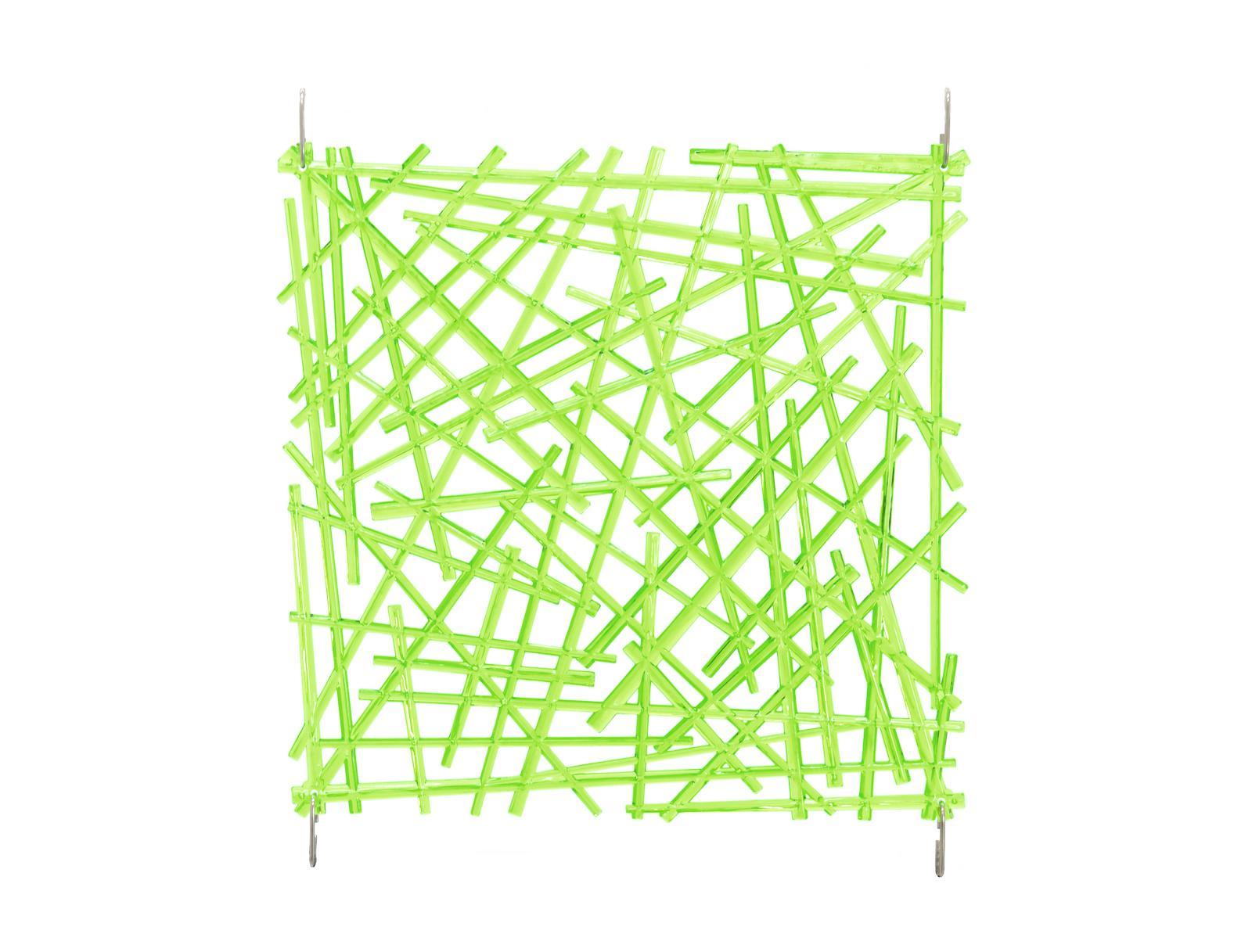 EUROPALMS divisorio Asta verde 4x in plastica