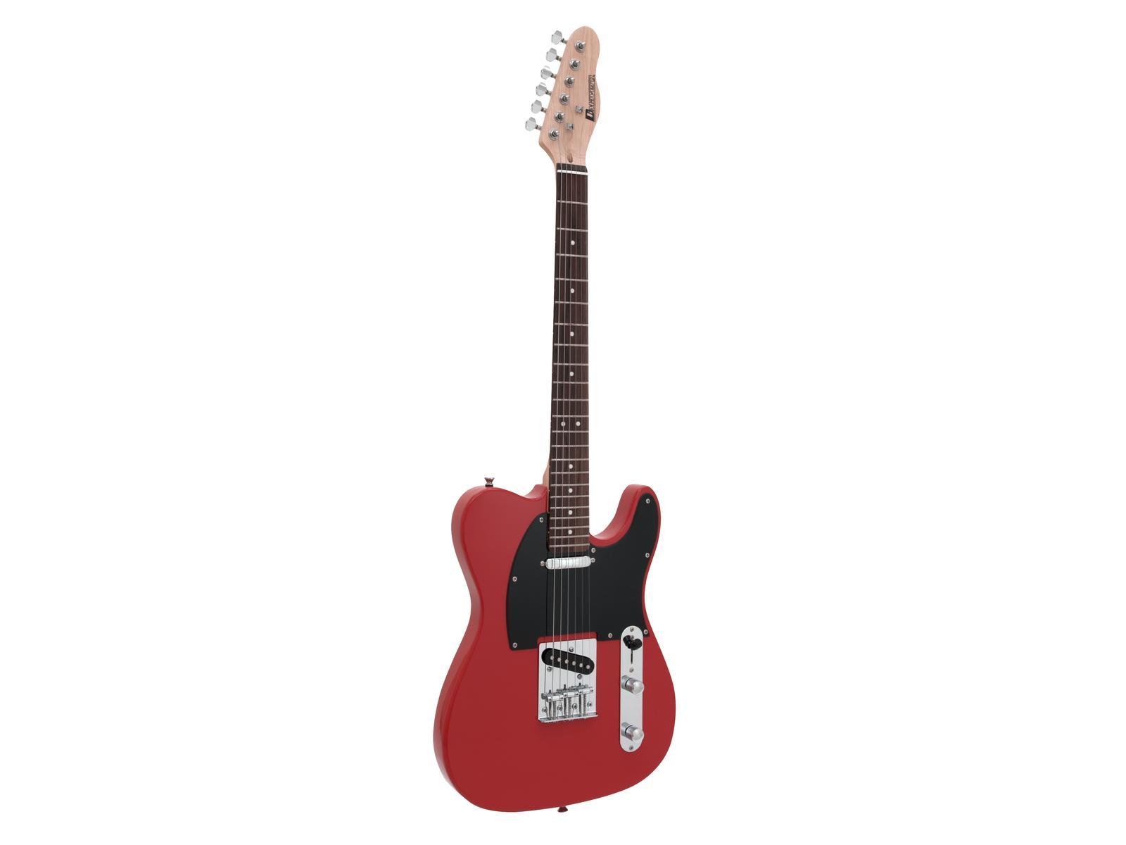 DIMAVERY TL-401 E-Guitar, rosso