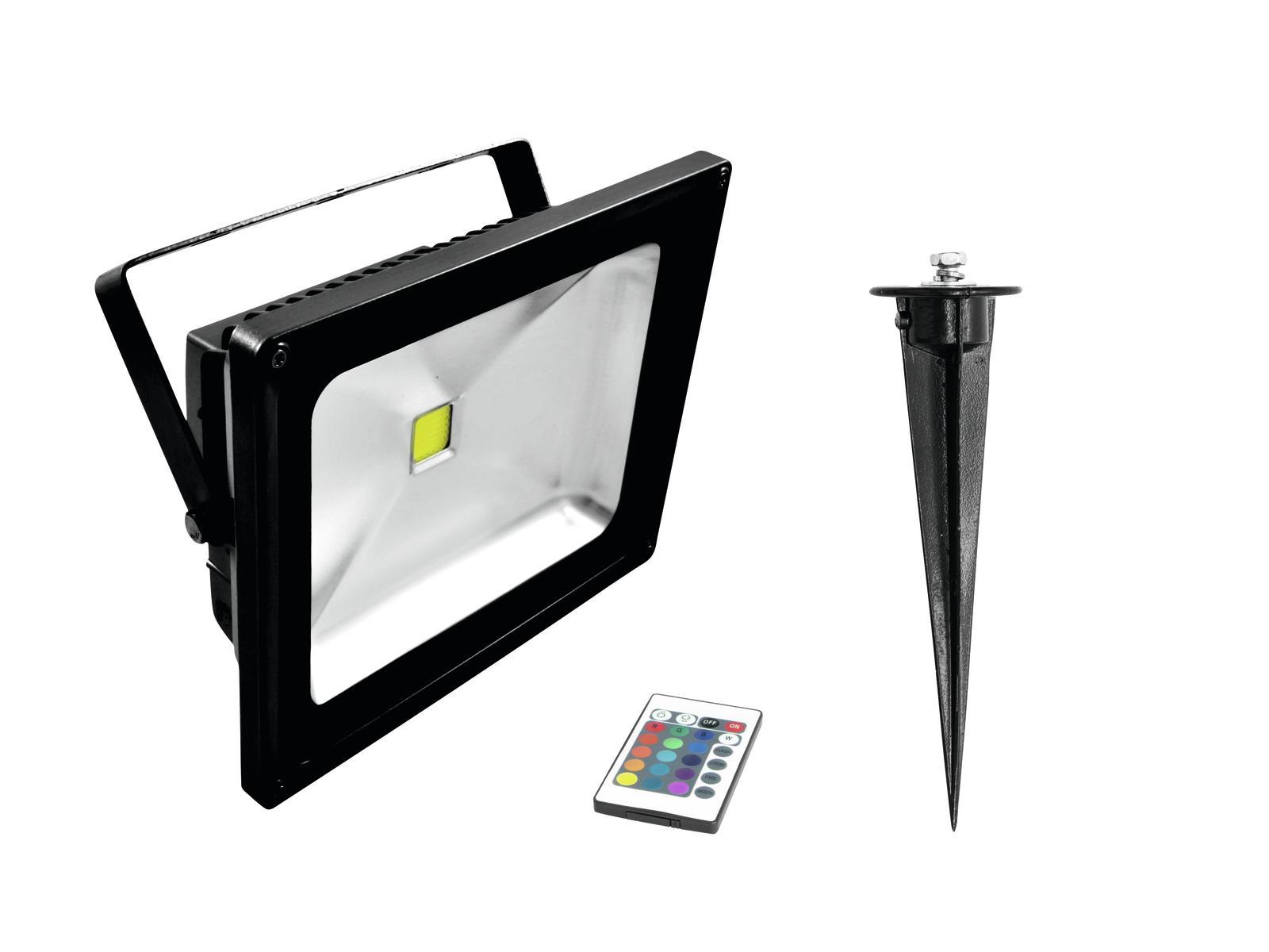 EUROLITE LED IP FL-30 COB RGB IR + Palo
