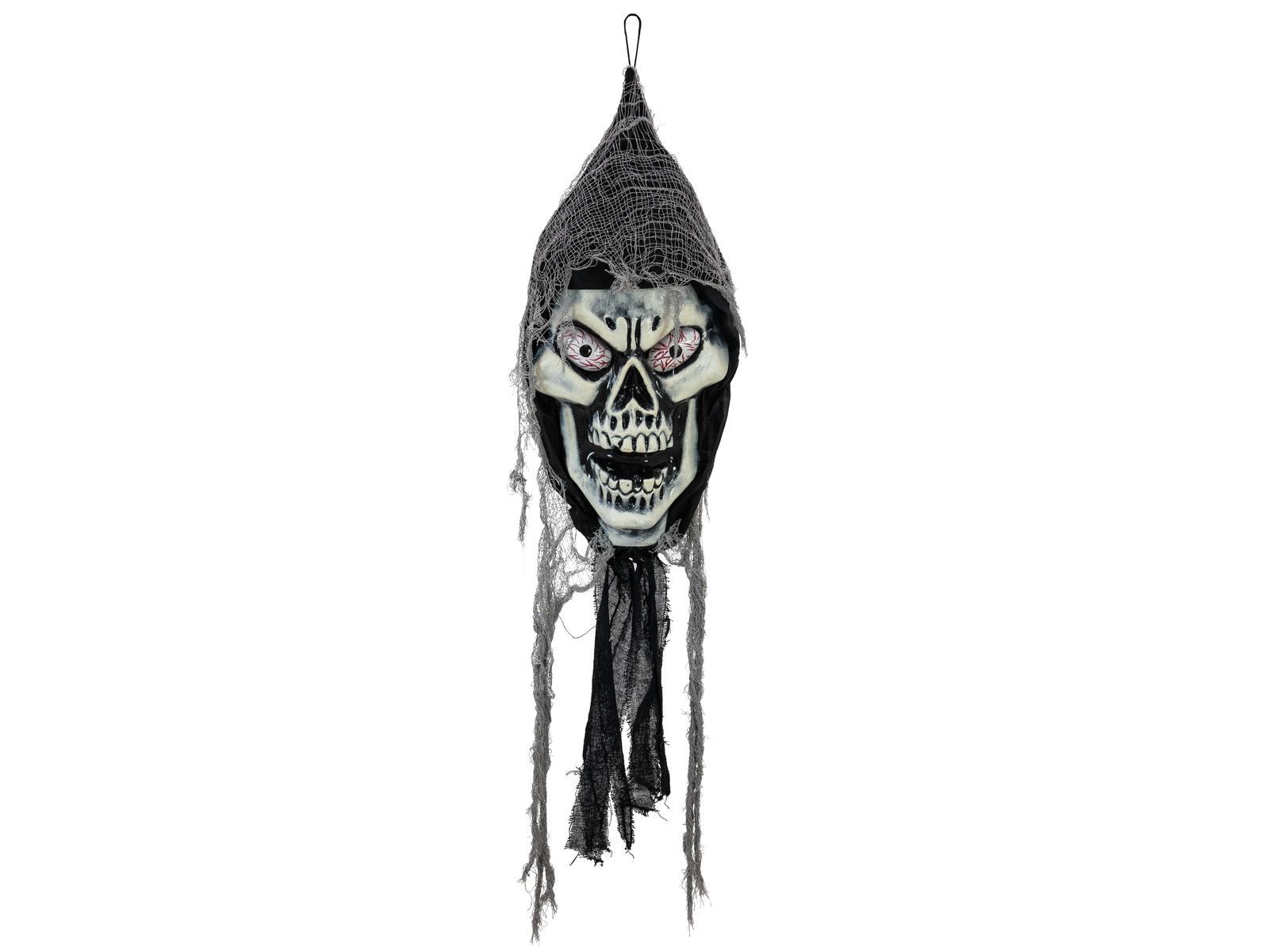 EUROPALMS Halloween Teschio pendente, 120cm