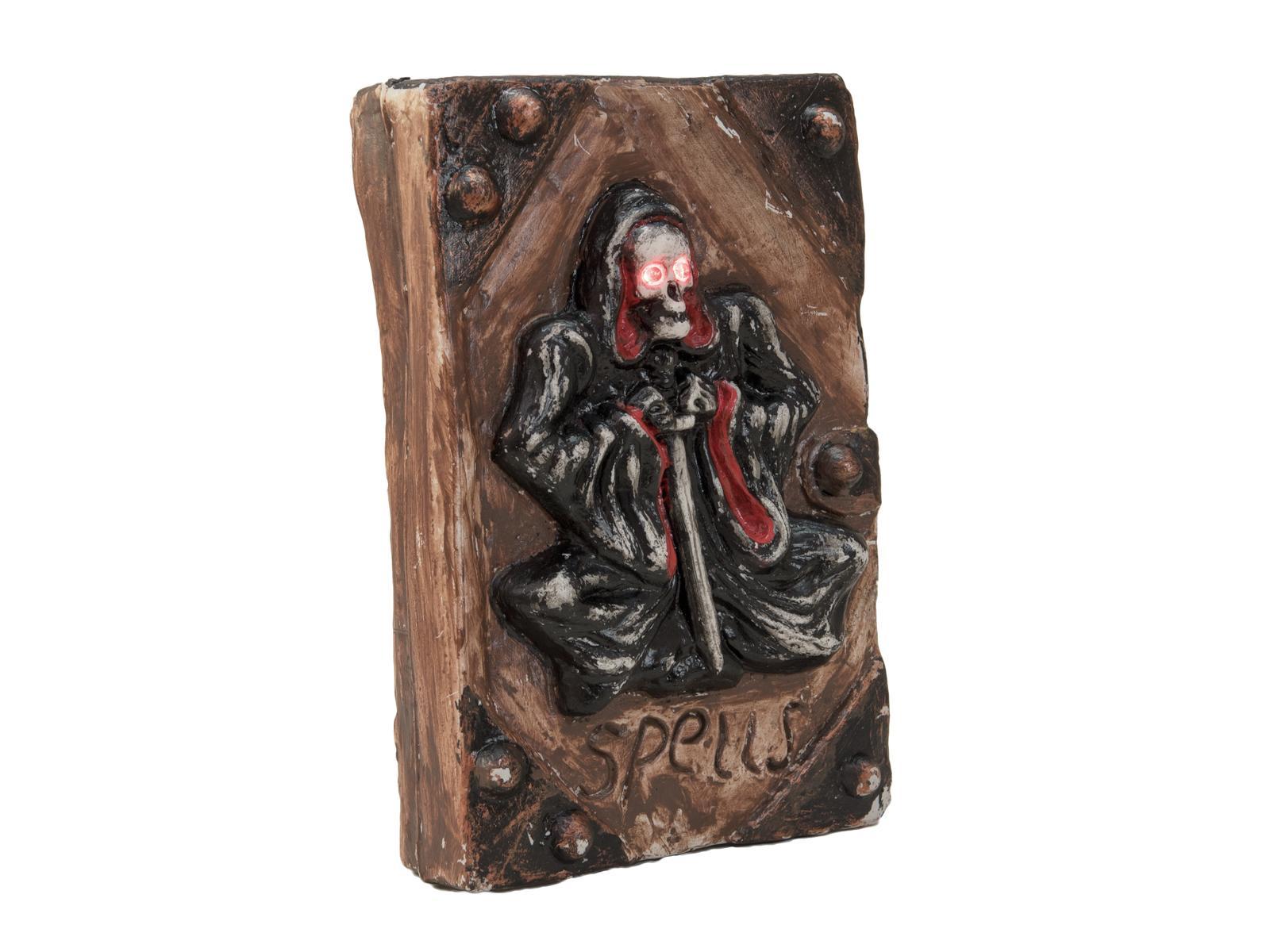 EUROPALMS Halloween Scheletro Libro, 25x17x7cm
