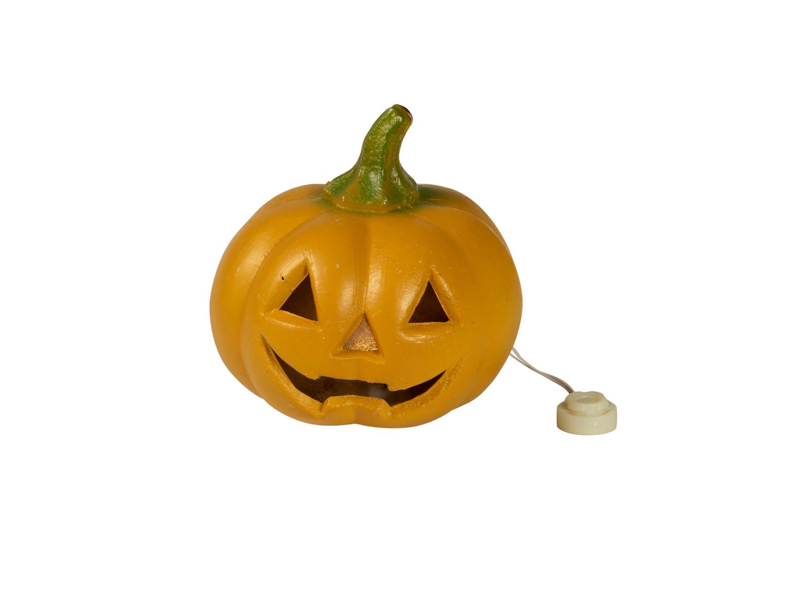 EUROPALMS Halloween Kürbis, beleuchtet, 12cm