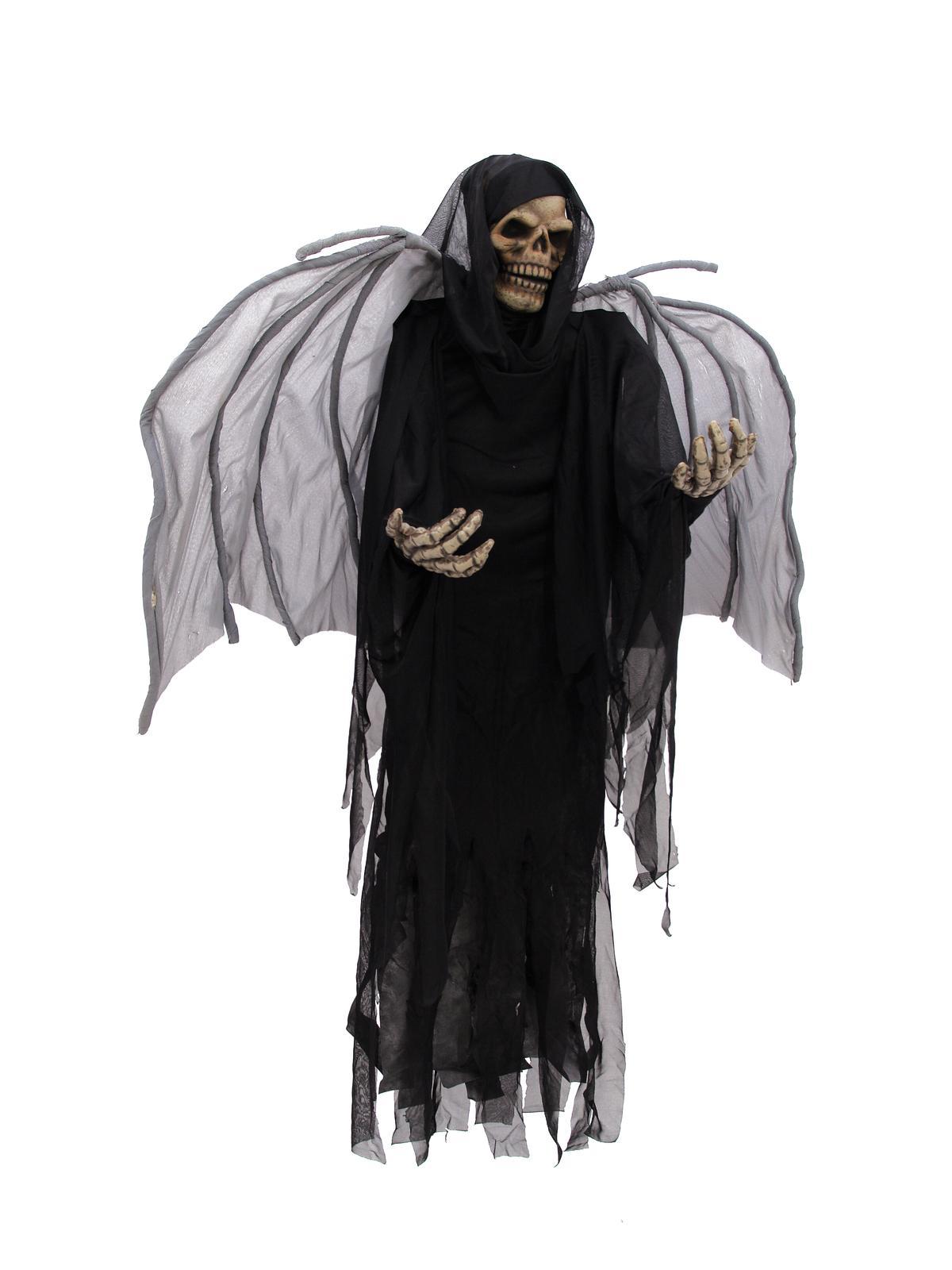 EUROPALMS Halloween figura sceleton con le ali