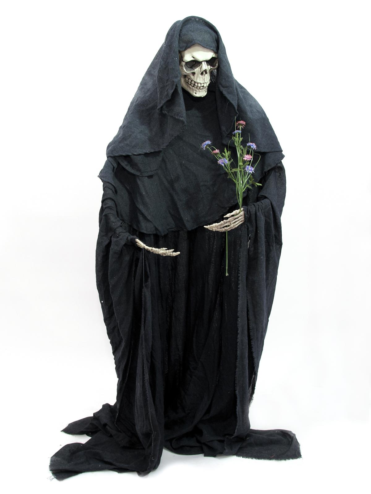 EUROPALMS Halloween figura scheletro pieghevole 160 cm