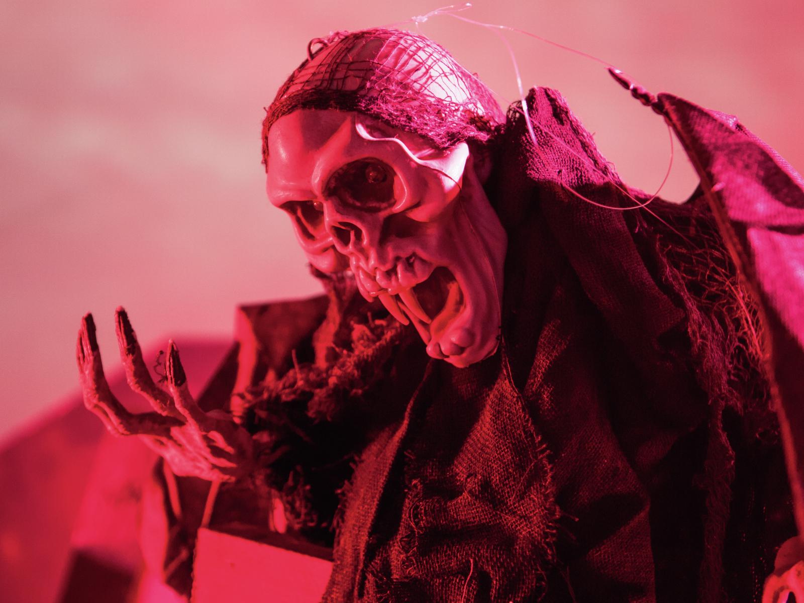 EUROPALMS Halloween figura pipistrello fantasma