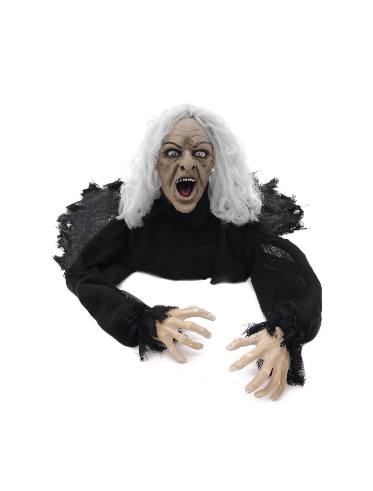 EUROPALMS di Halloween di Zombie vecchio uomo, animato