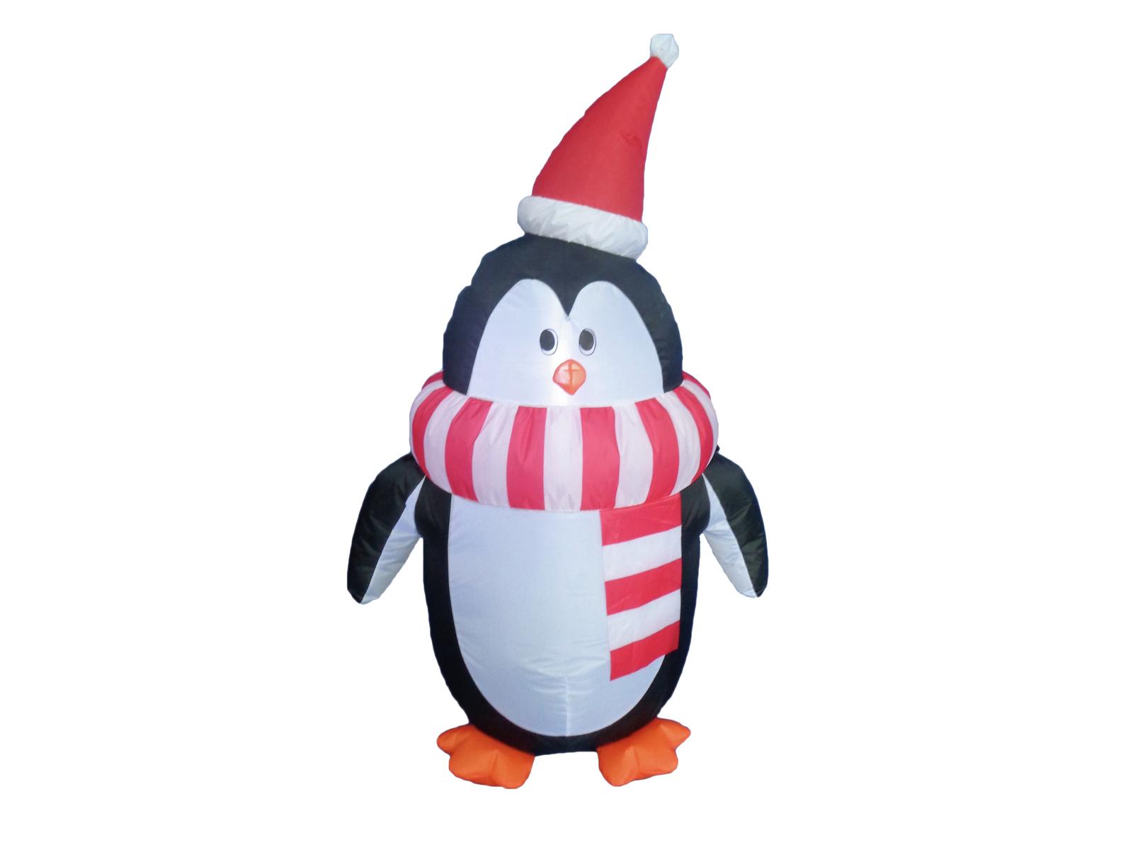 EUROPALMS Aufblasbare Figur Pinguin Fred, 120cm