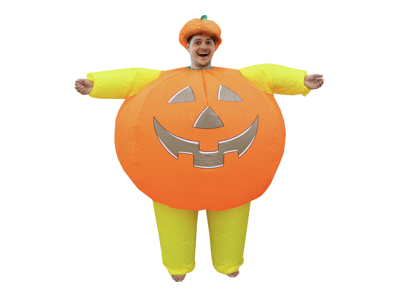 EUROPALMS costume Gonfiabile da Zucca da uomo per festa halloween